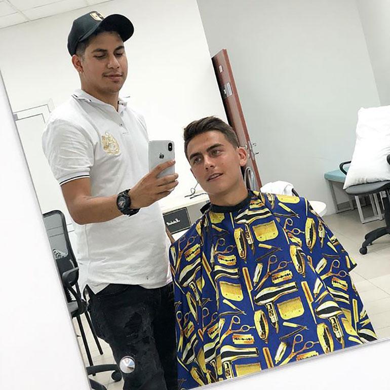 El cambio de look de los jugadores de la selección argentina antes ...