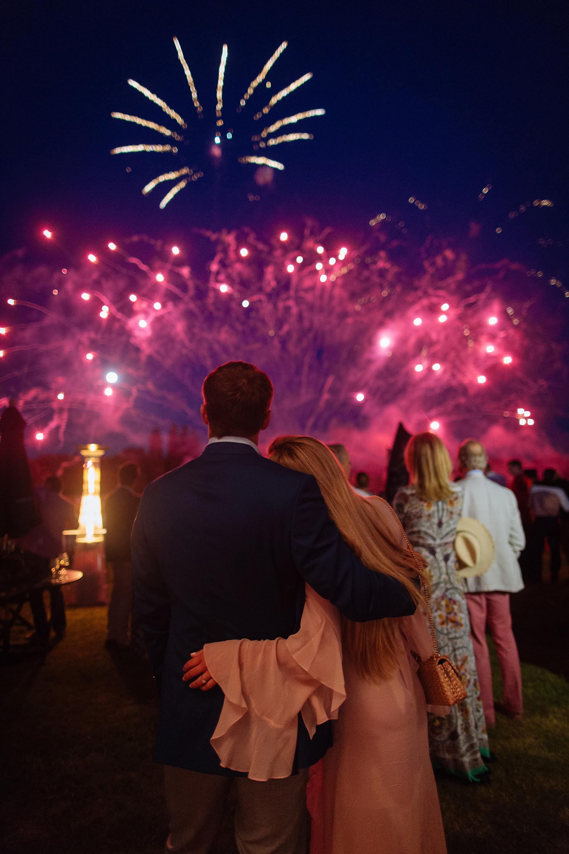 """El fabuloso show de fuegos artificiales fue el broche de oro de """"La Dolfina Sunset Polo and Gala"""" /// Fotos: Gentileza Pulpo PR"""