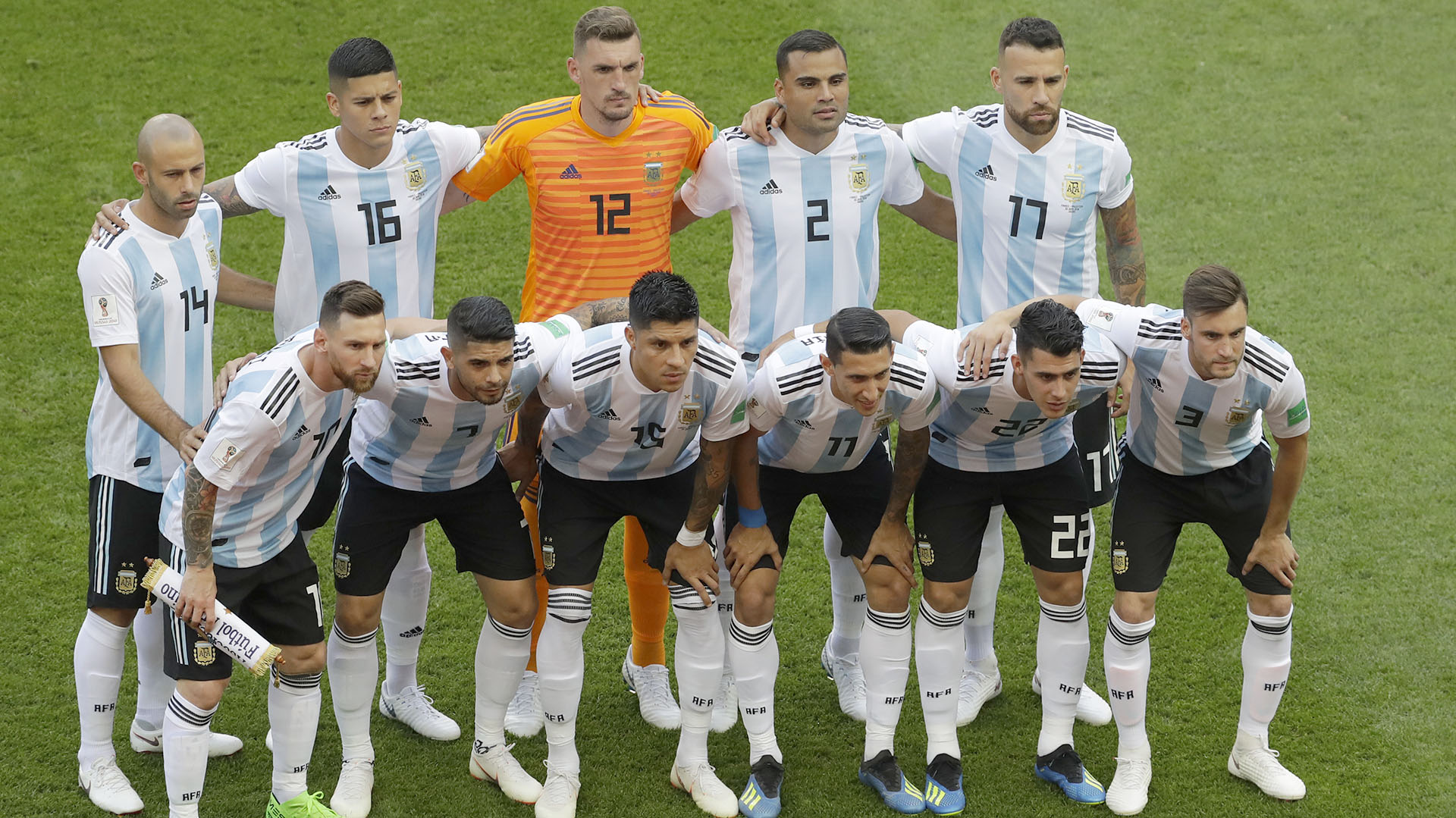 46 fotos de la dura derrota de Argentina ante Francia en el Kazán ...