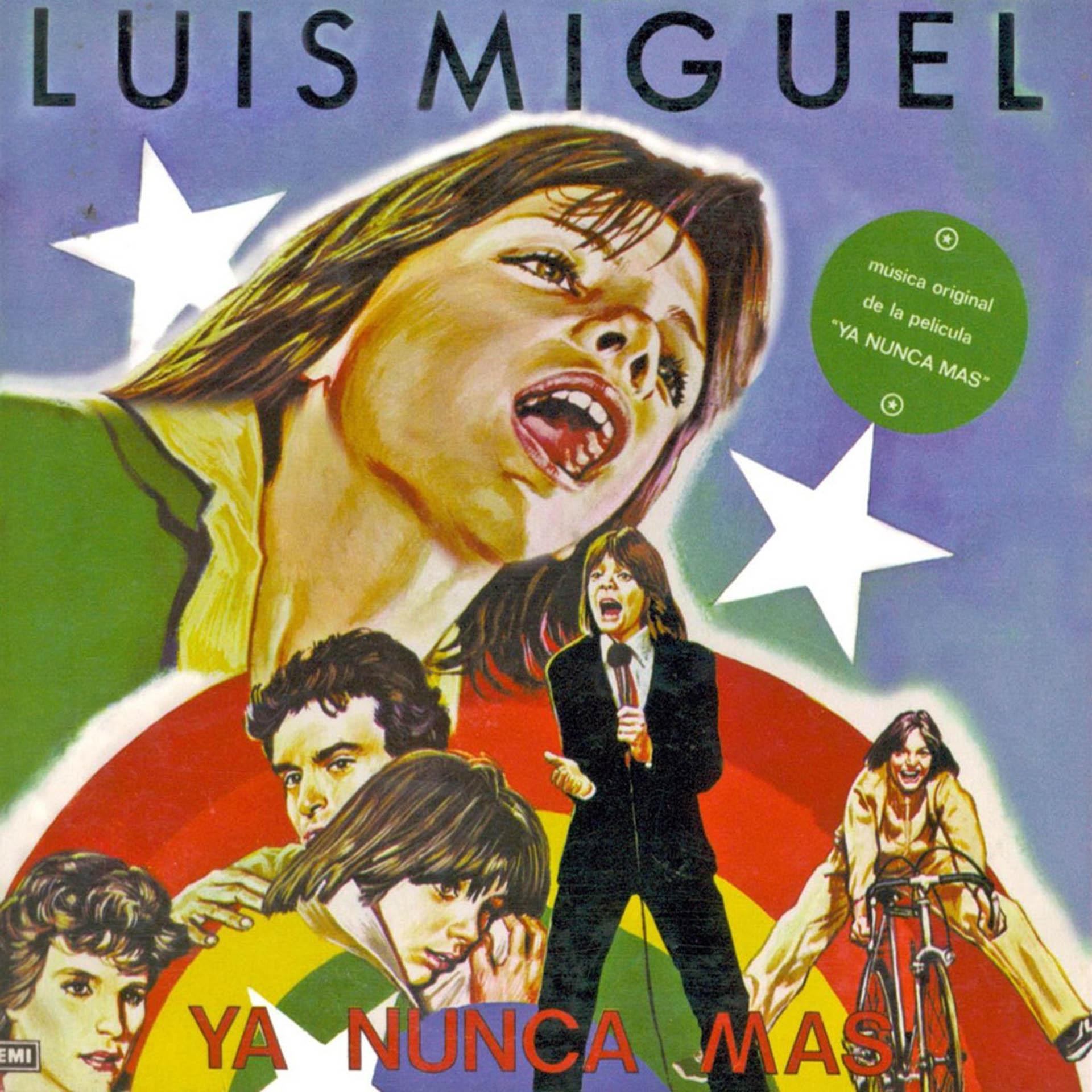 La placa con la banda de sonido de la primera película de Luis Miguel fue disco de oro
