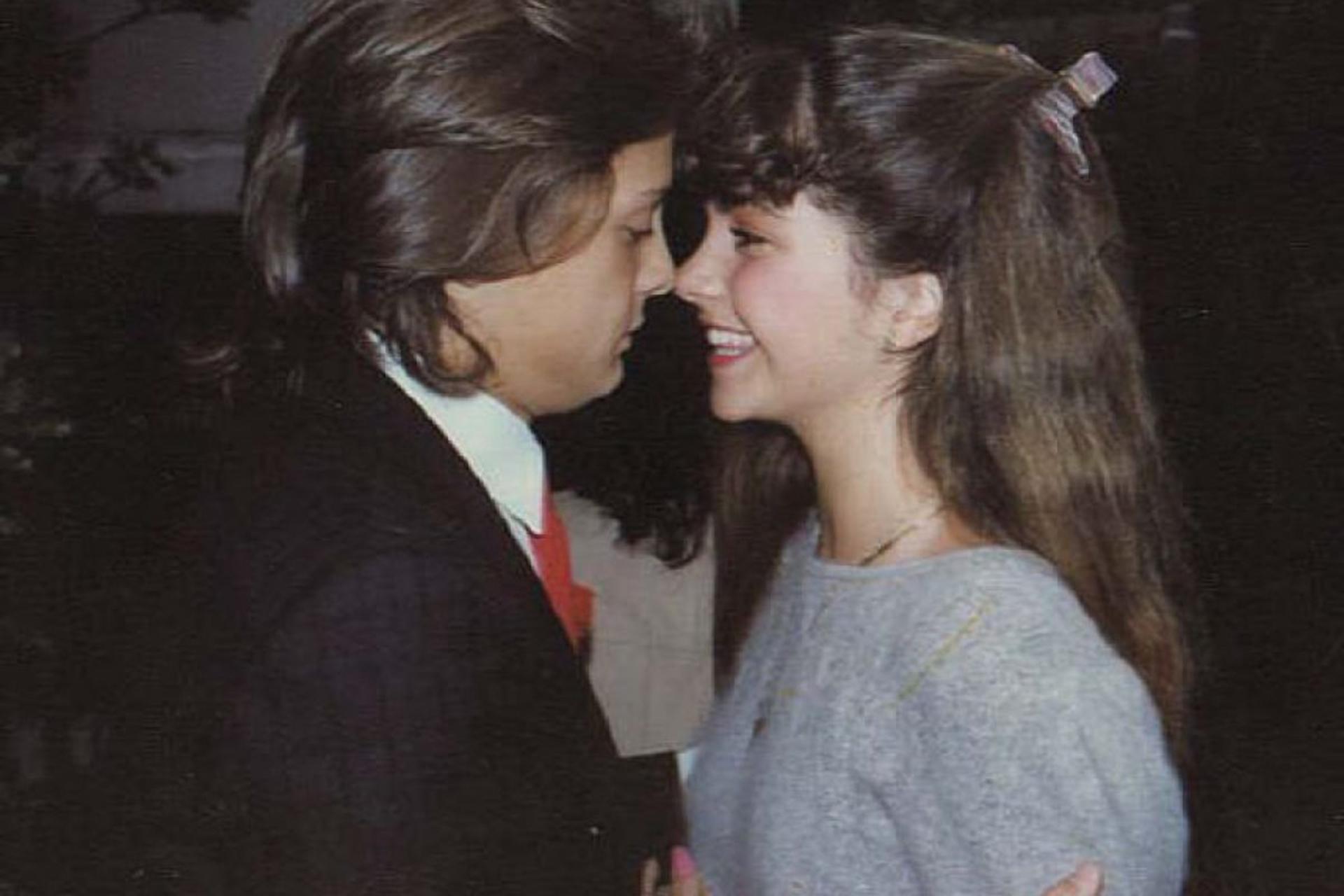 """En """"Fiebre de amor"""", Luis Miguel fue protagonista junto a la estrella mexicana Lucerito"""
