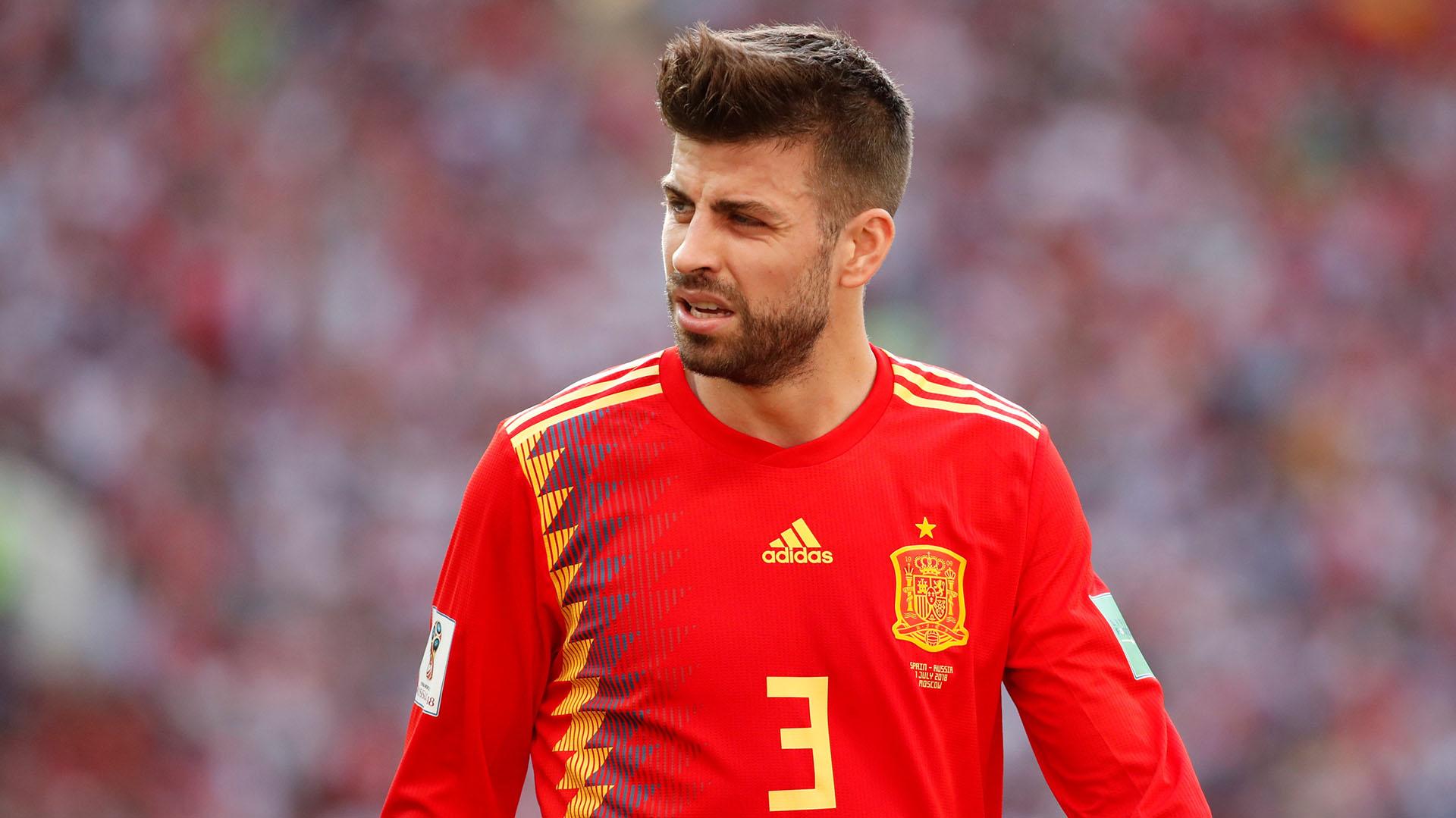 Gerard Piqué ha confirmado su retiro de la selección española (REUTERS)