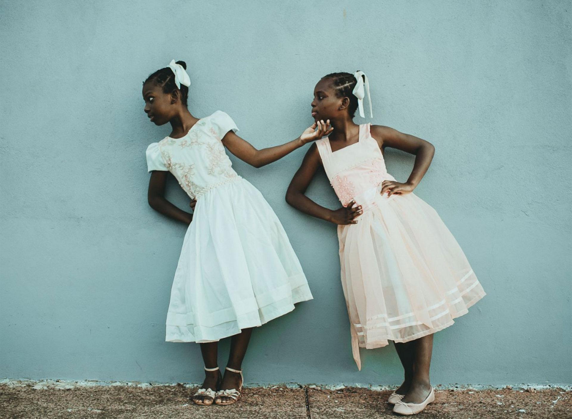 """""""Leida y Laelle"""". Inmigrantes haitianas en Estrela, Rio Grande do Sul, Brasil."""