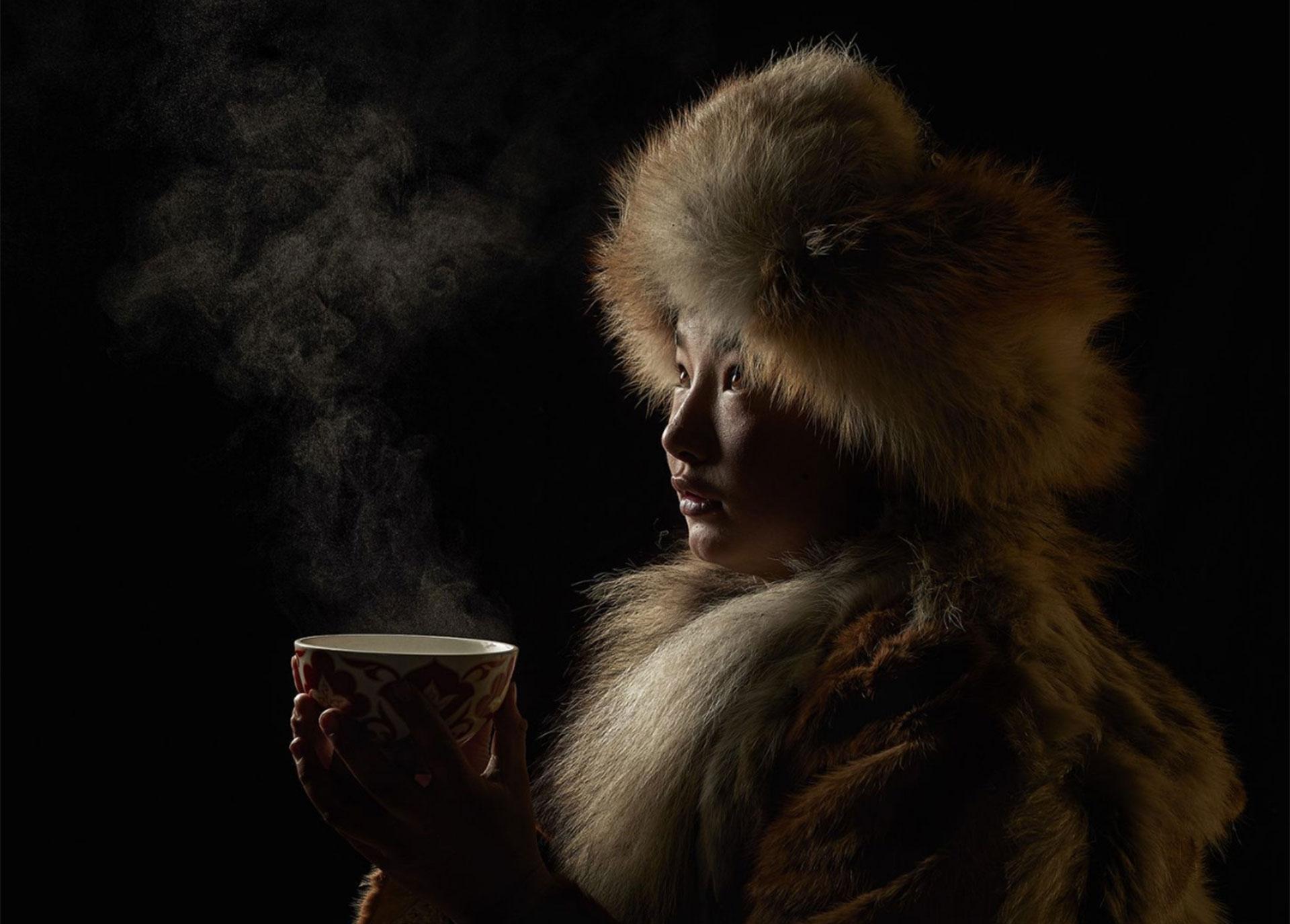 """Cultura del té"". ölgiy, Bayan-Oelgiy, Mongolia."