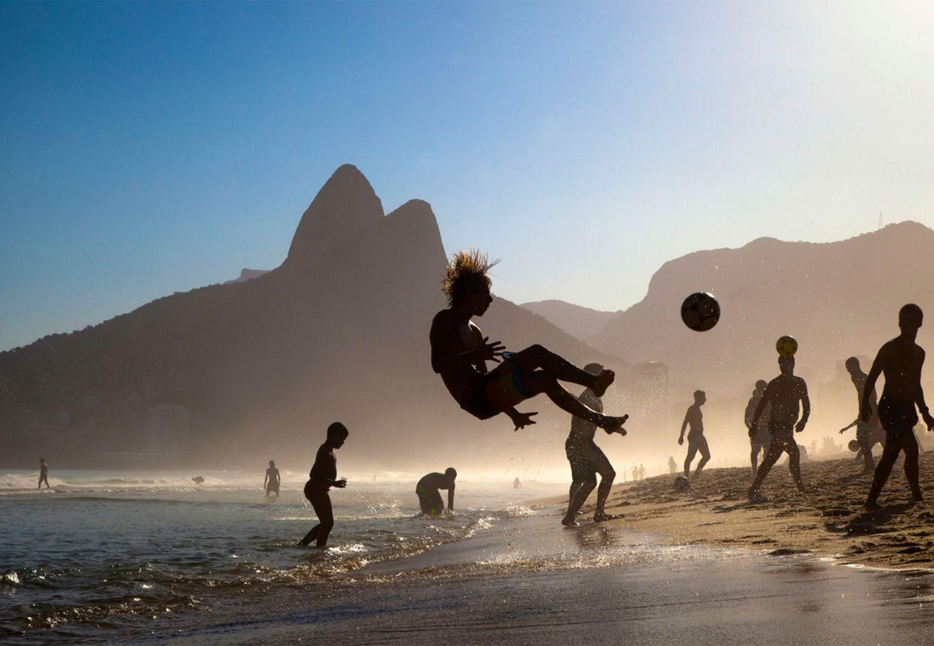 """Playa de Ipanema"". Rio de Janeiro, Brasil."