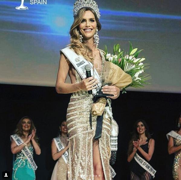 Angela Ponce es la primera mujer transexual en ganar Miss Universo España (Instagram: publiservicios)