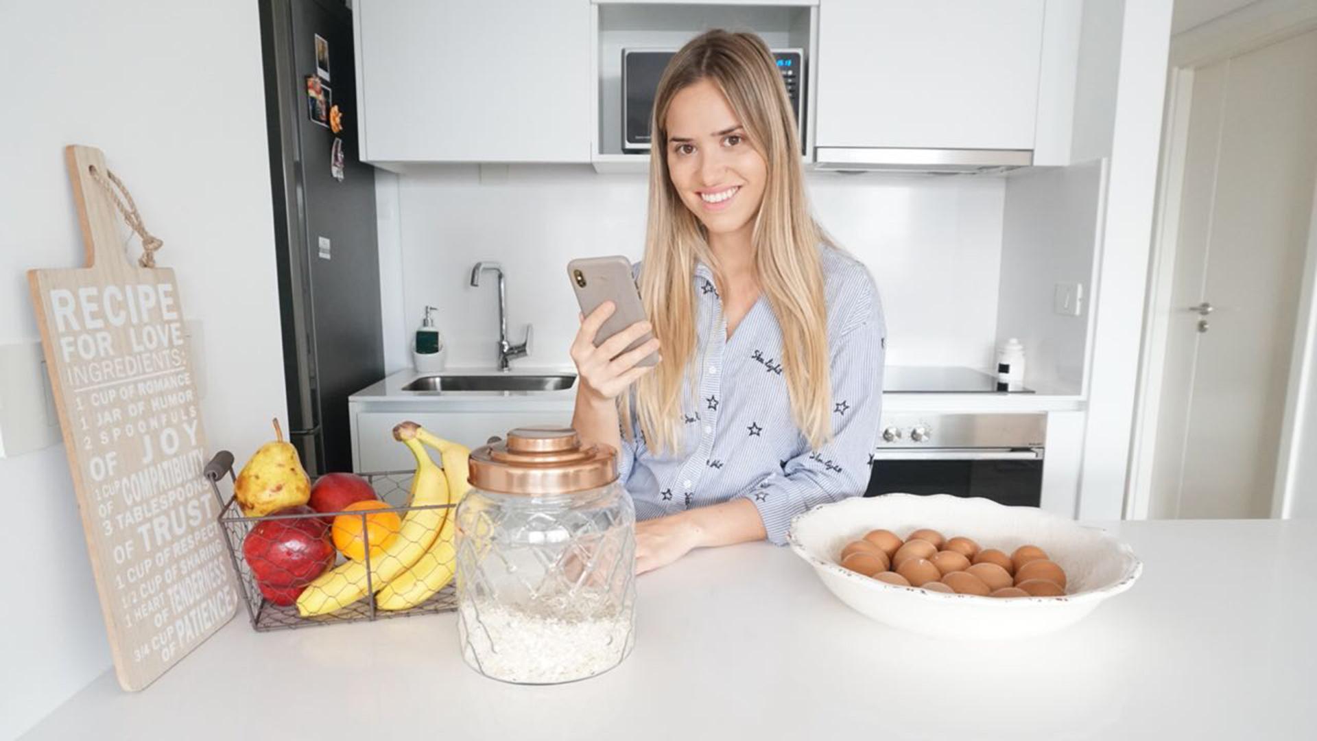 Florencia Fernández es la fundadora de la exitosa cuenta de Instagram The HEALTHY BLOGGER que propone una alimentación saludable y deliciosa. En cada post comparte menús para todos, inclusive veganos y vegetarianos