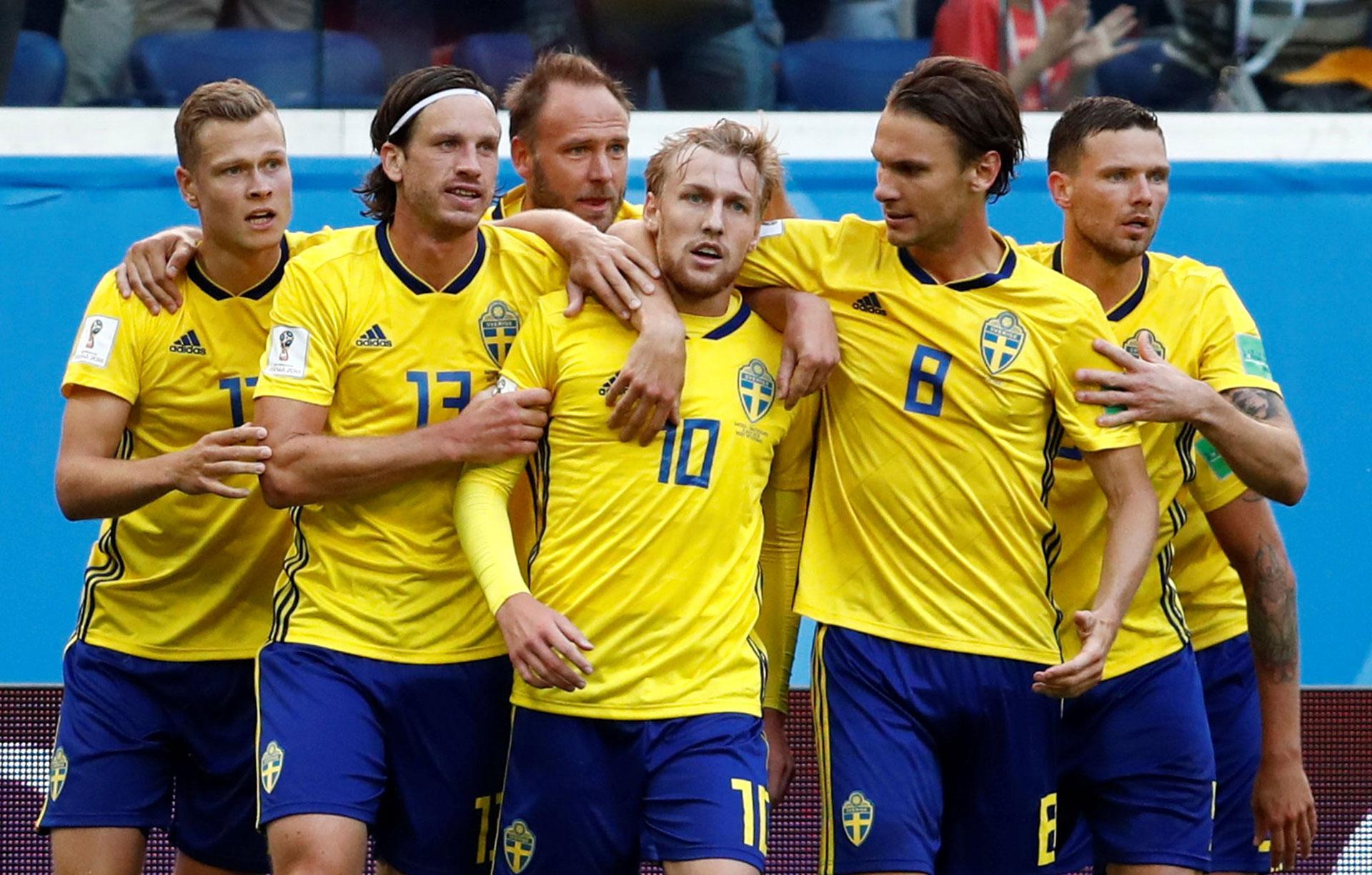 Suecia venció a Suiza en octavos de final (Reuters)