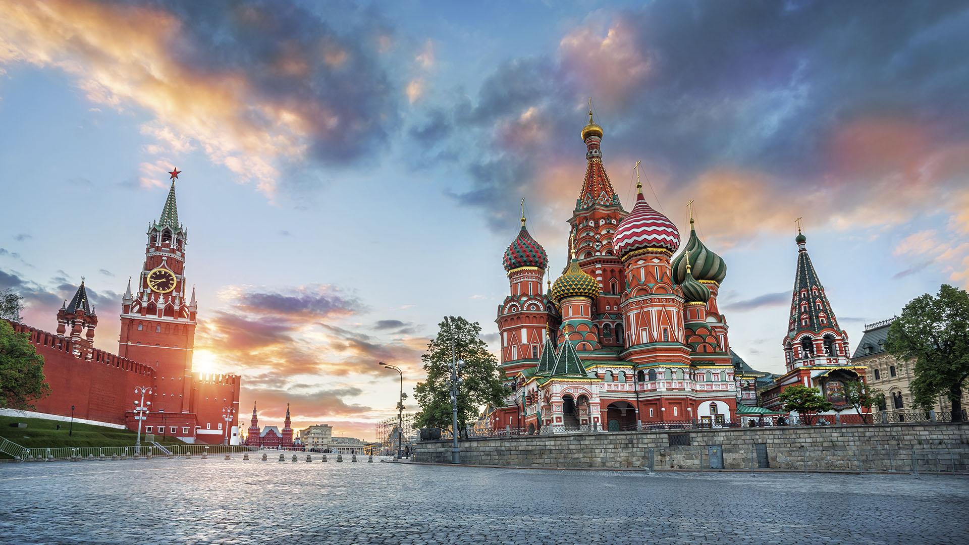 La Plaza Roja, ícono de Moscú (Getty)