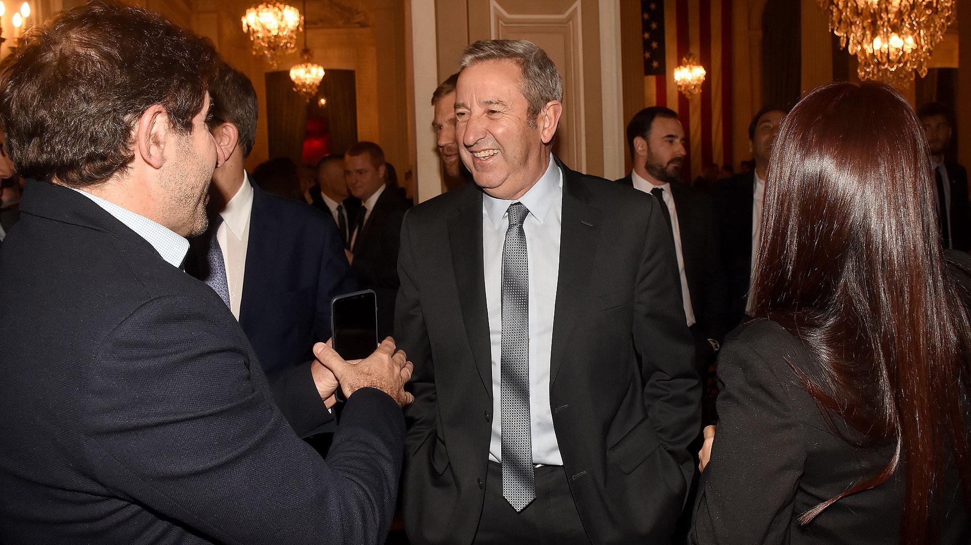El senador Julio Cobos