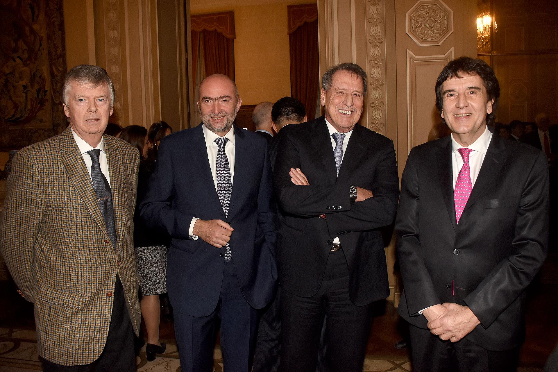 Guillermo Stanley, Gustavo Cinosi, Jorge Brito y Carlos Melconian