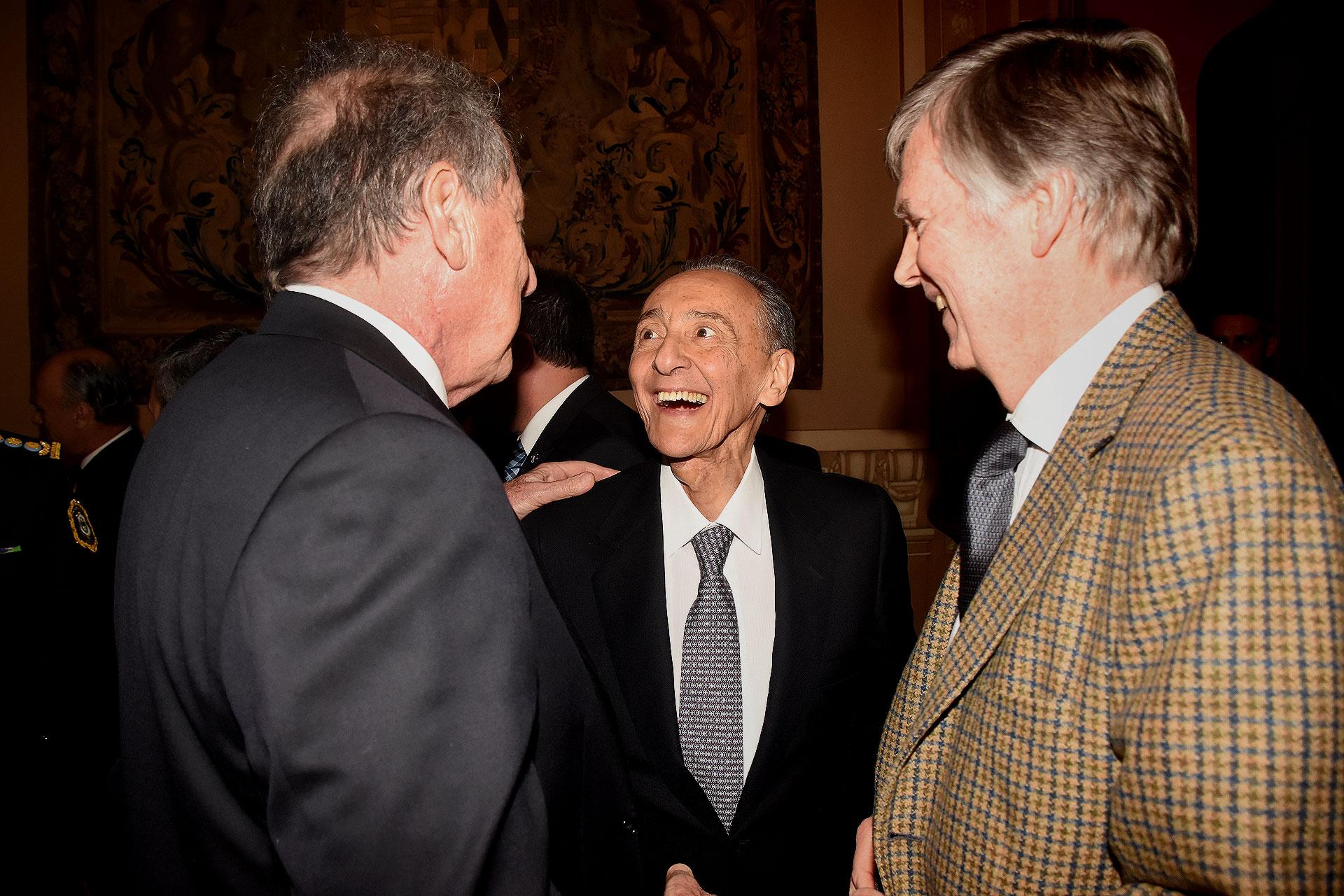 Héctor Magnetto. CEO del Grupo Clarín, junto a Jorge Brito y Guillemo Stanley
