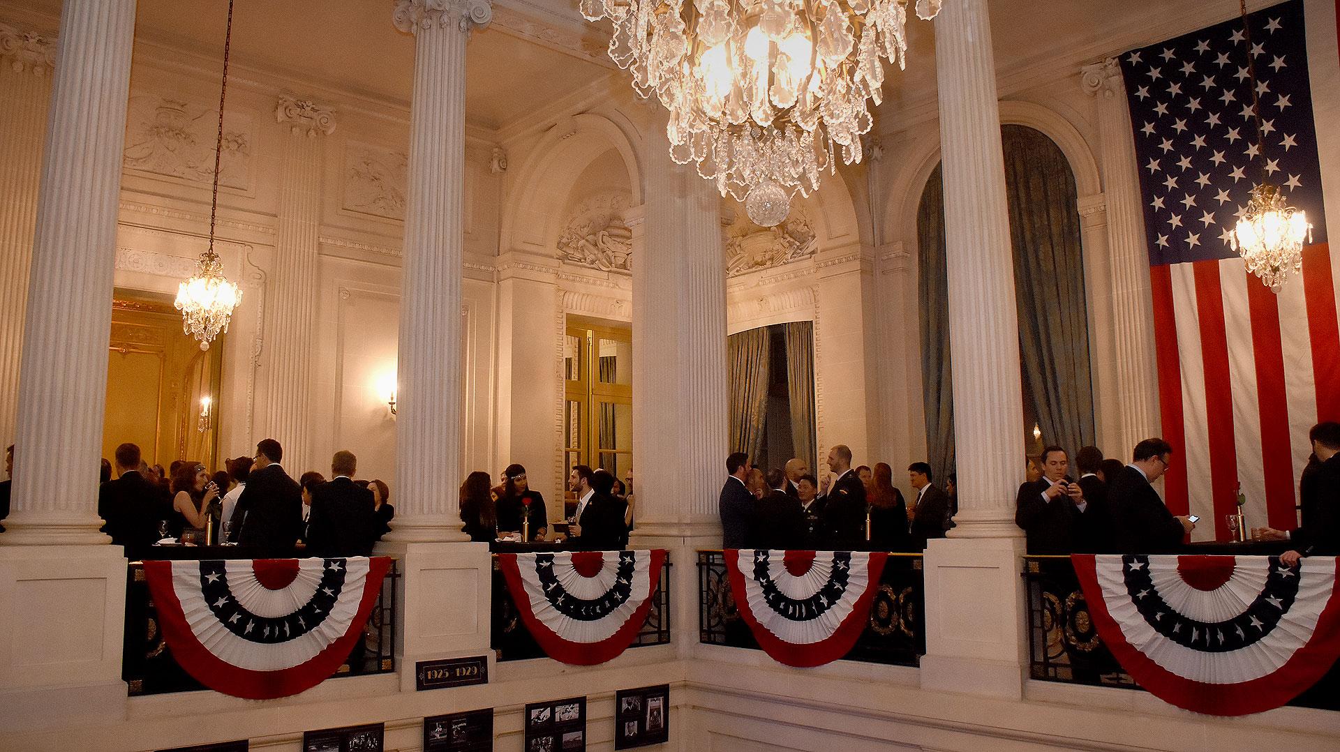 La gran celebración incluyó el festejo del primer centenario del Palacio Bosch