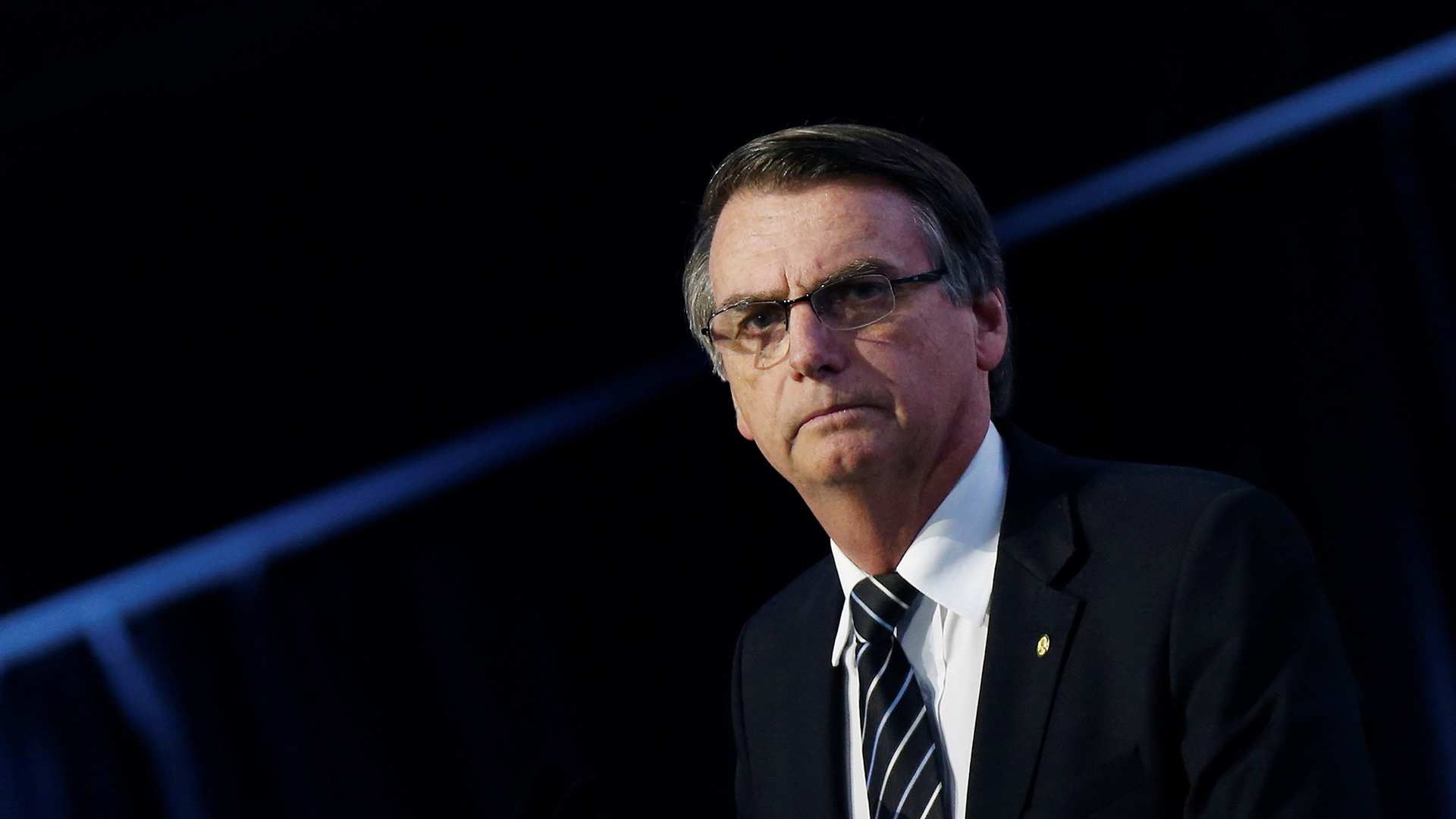 Jair Bolsonaro posee un 17% de intención de voto (Reuters)