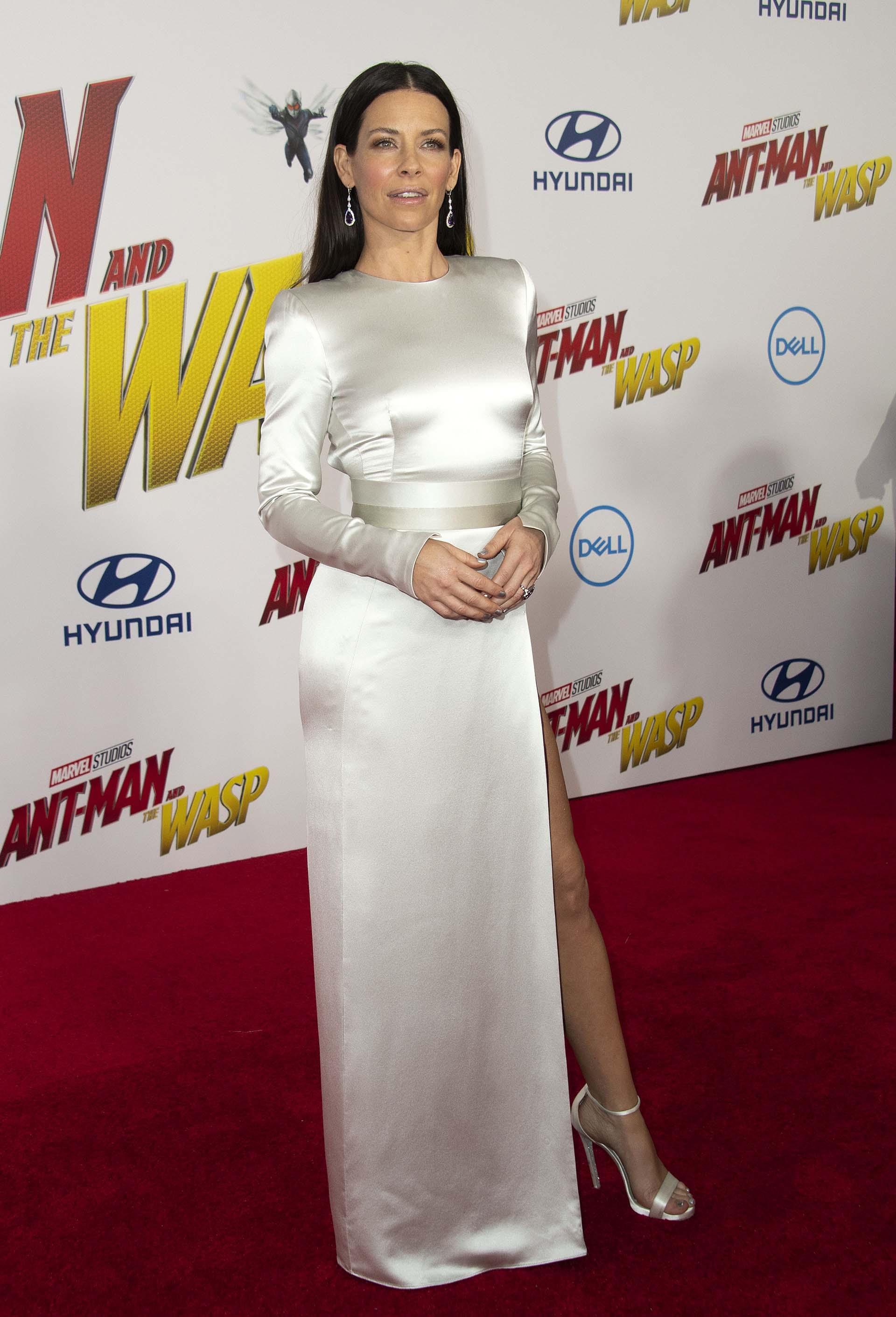 Evangeline Lilly integra el reparto de actores del film, junto aPaul Rudd,Michelle Pfeiffer,Michael Peña y Michael Douglas