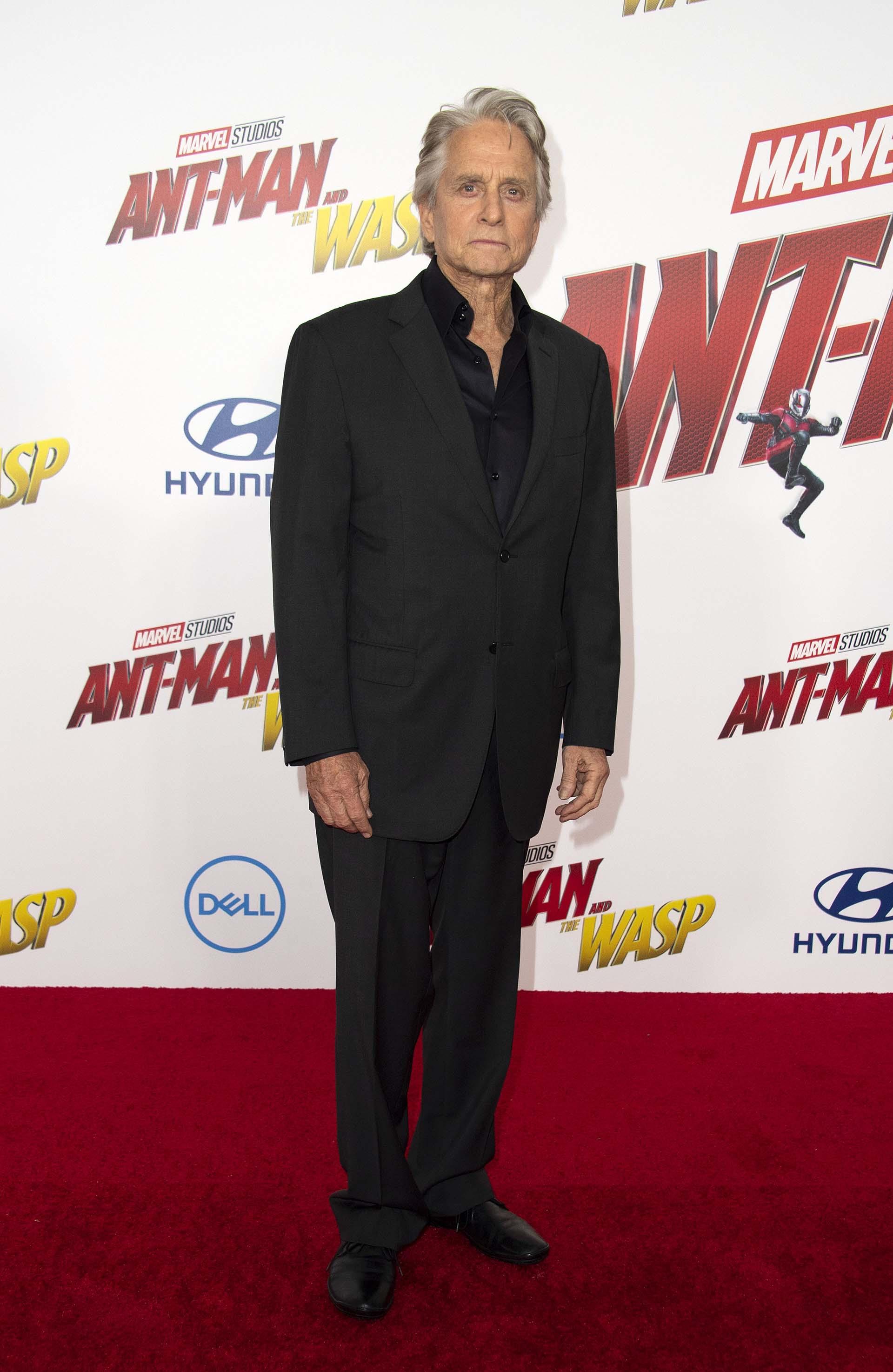 A punto de cumplir 74 años, Michael Douglas integra estenuevo capítulo en el universo cinematográfico de Marvel, donde los héroes poseen la asombrosa habilidad de encogerse