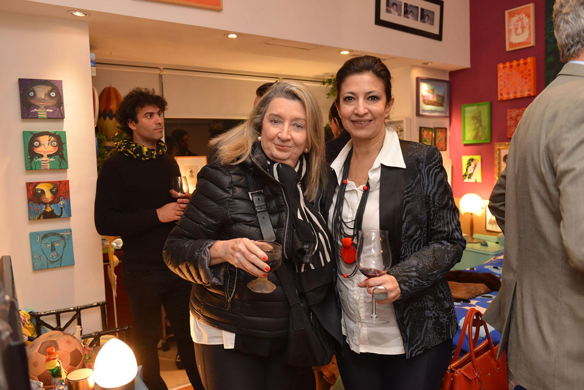 Alicia de Arteaga y Victoria Baeza