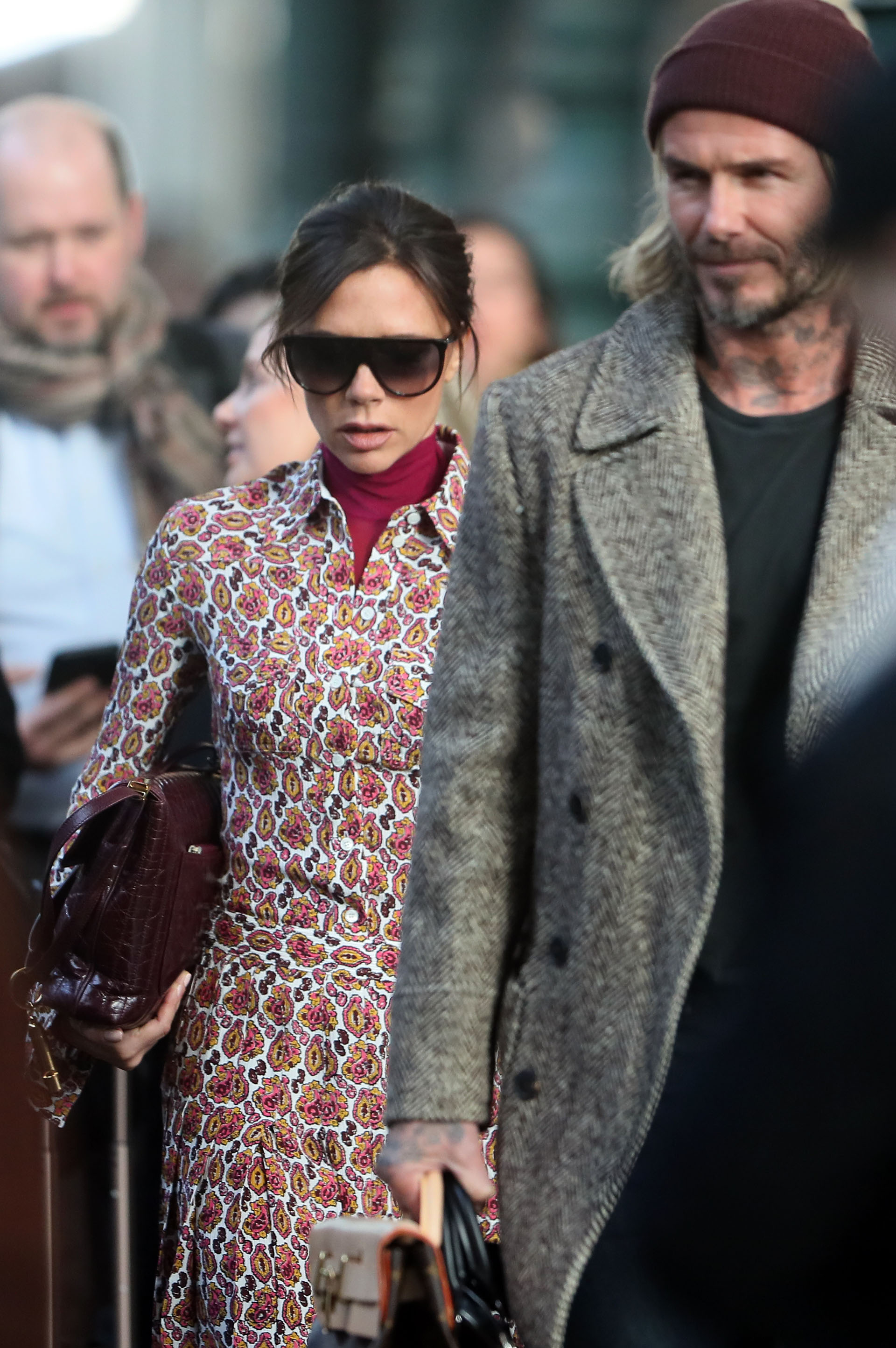 David y Victoria Beckham (The Grosby Group)