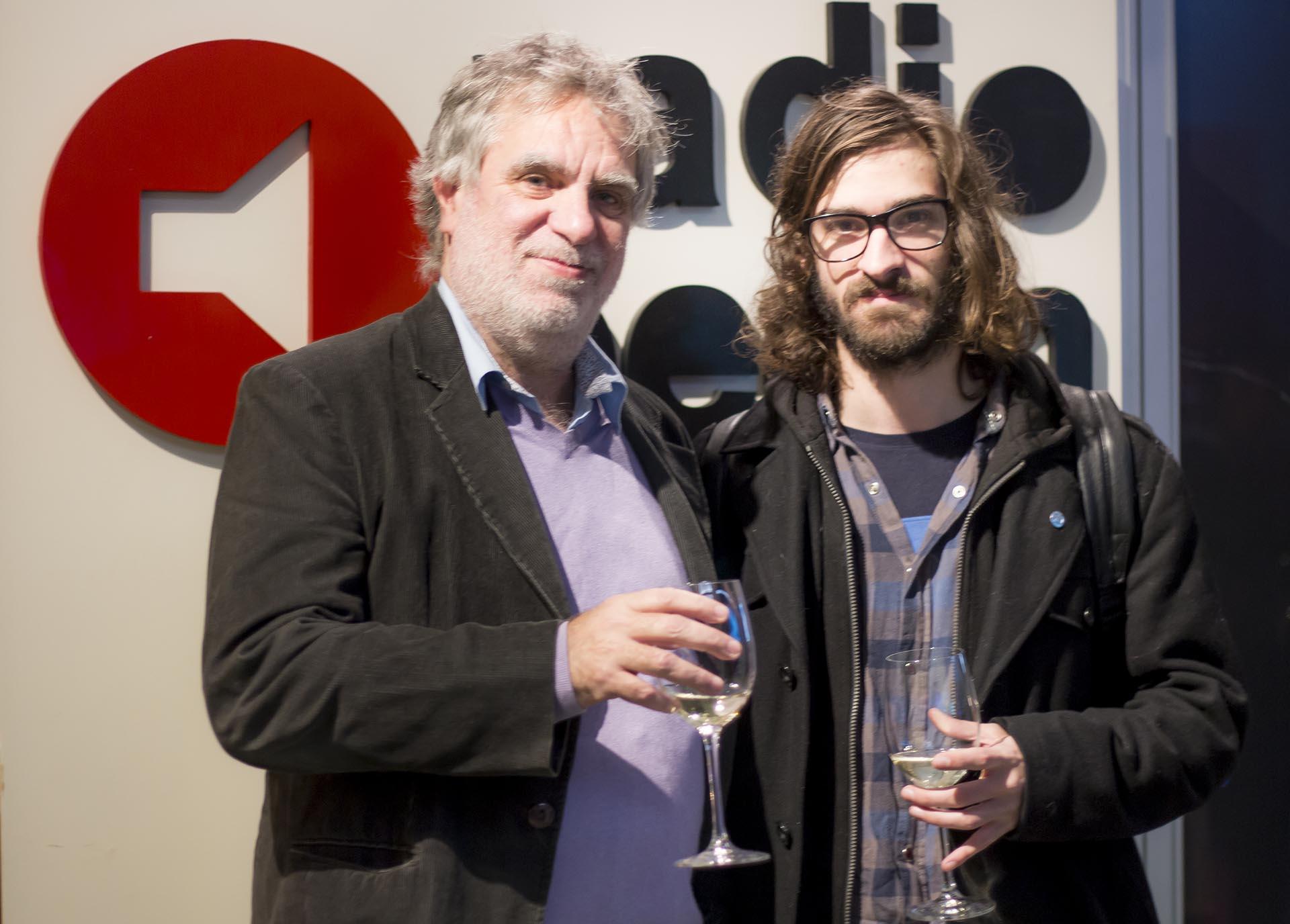 Gustavo Noriega y su hijo Francisco