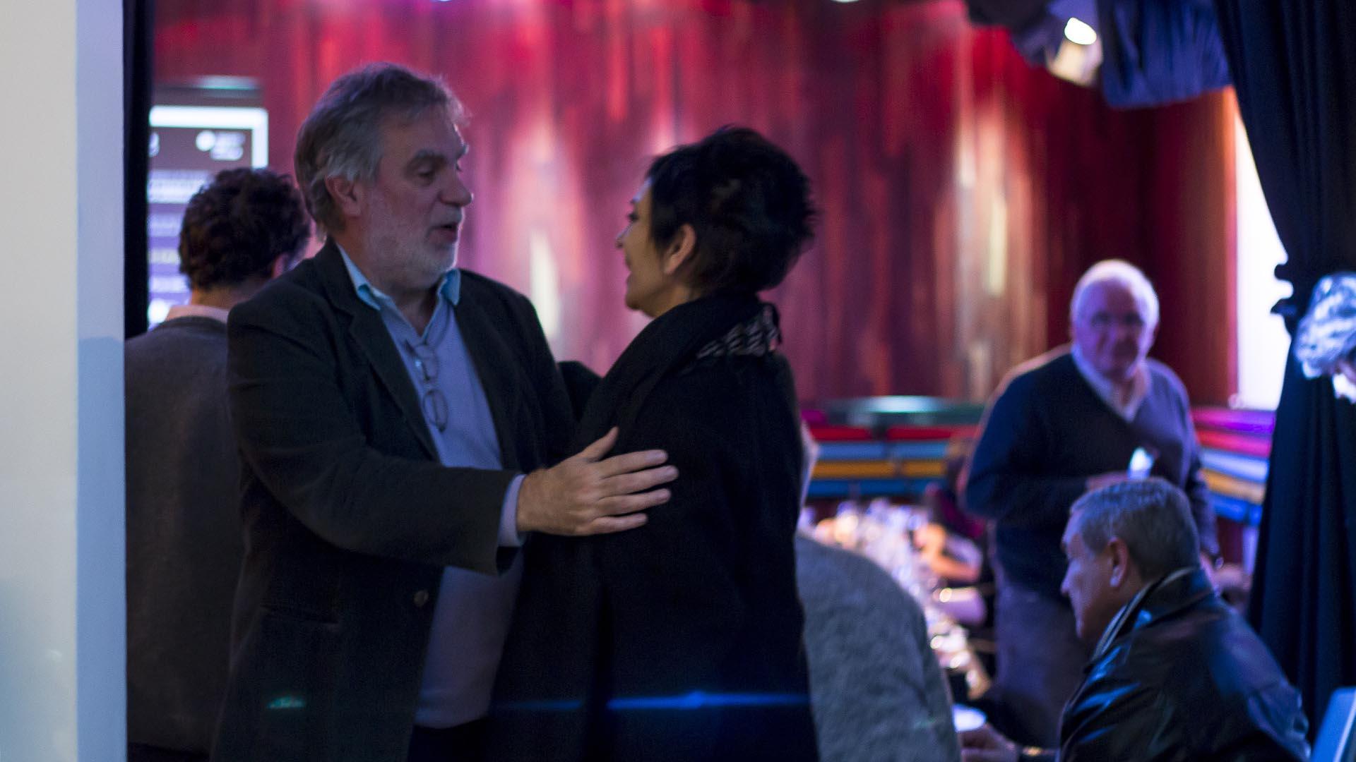 Gustavo Noriega y Mónica Gutiérrez