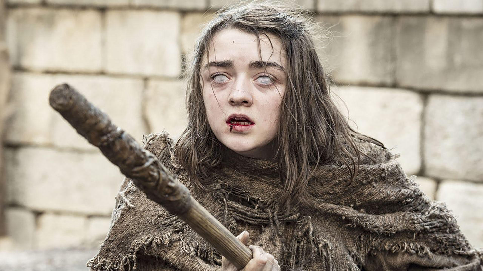 La actriz Maisie Williams