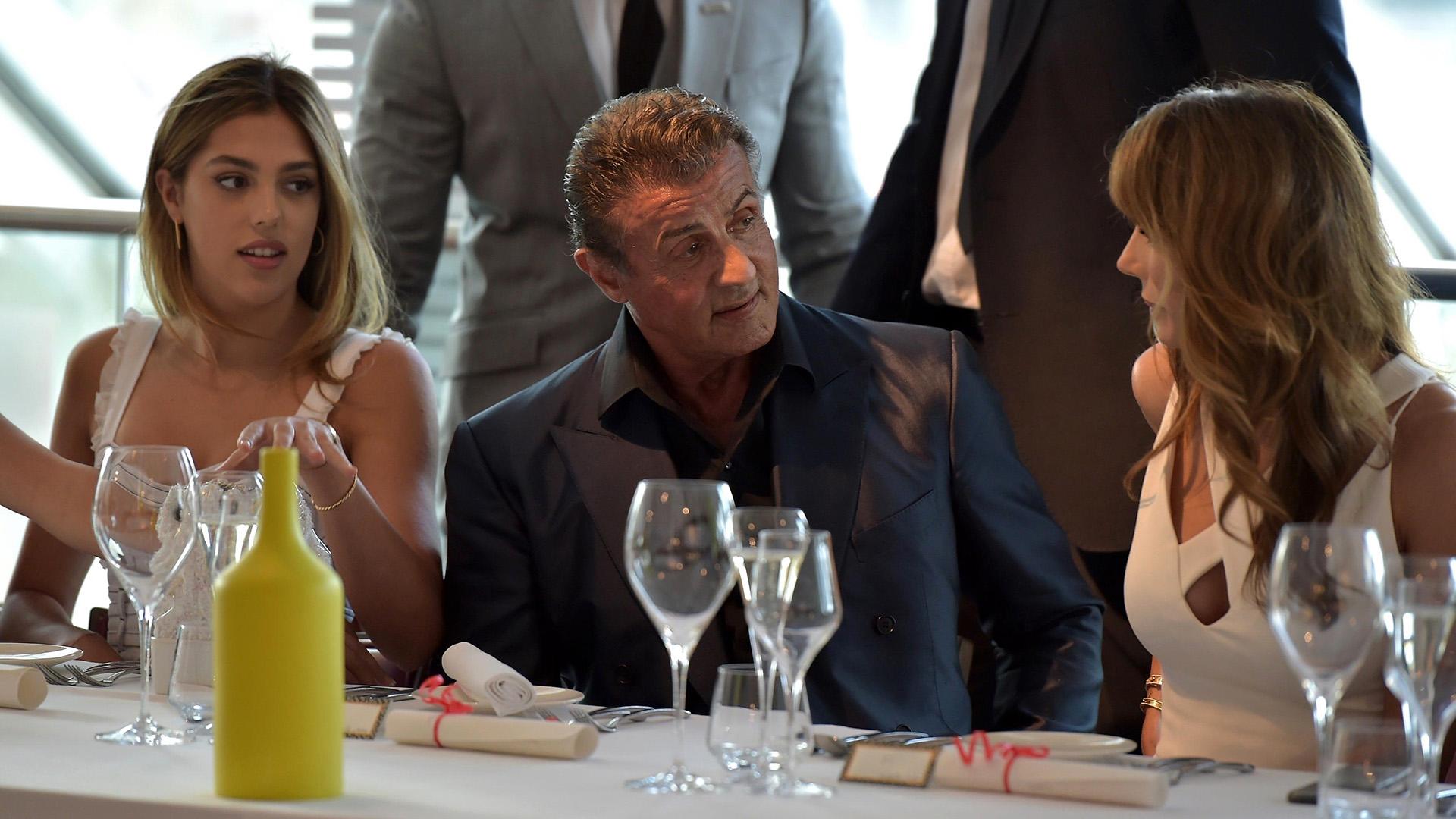El festejo se realizó en un restaurante italiano en Londres (Grosby Group)