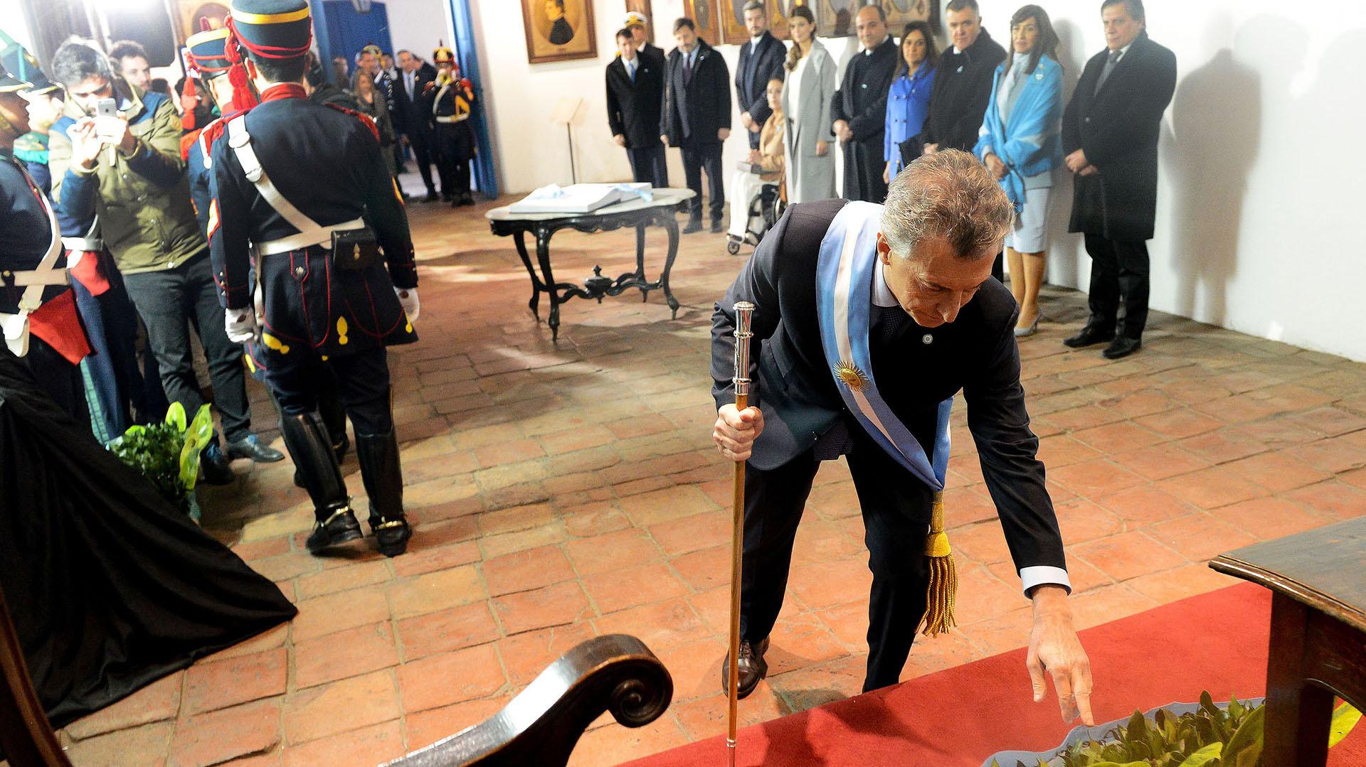 Mauricio Macri encabezó el acto central por el Día de la Independencia en Tucumán