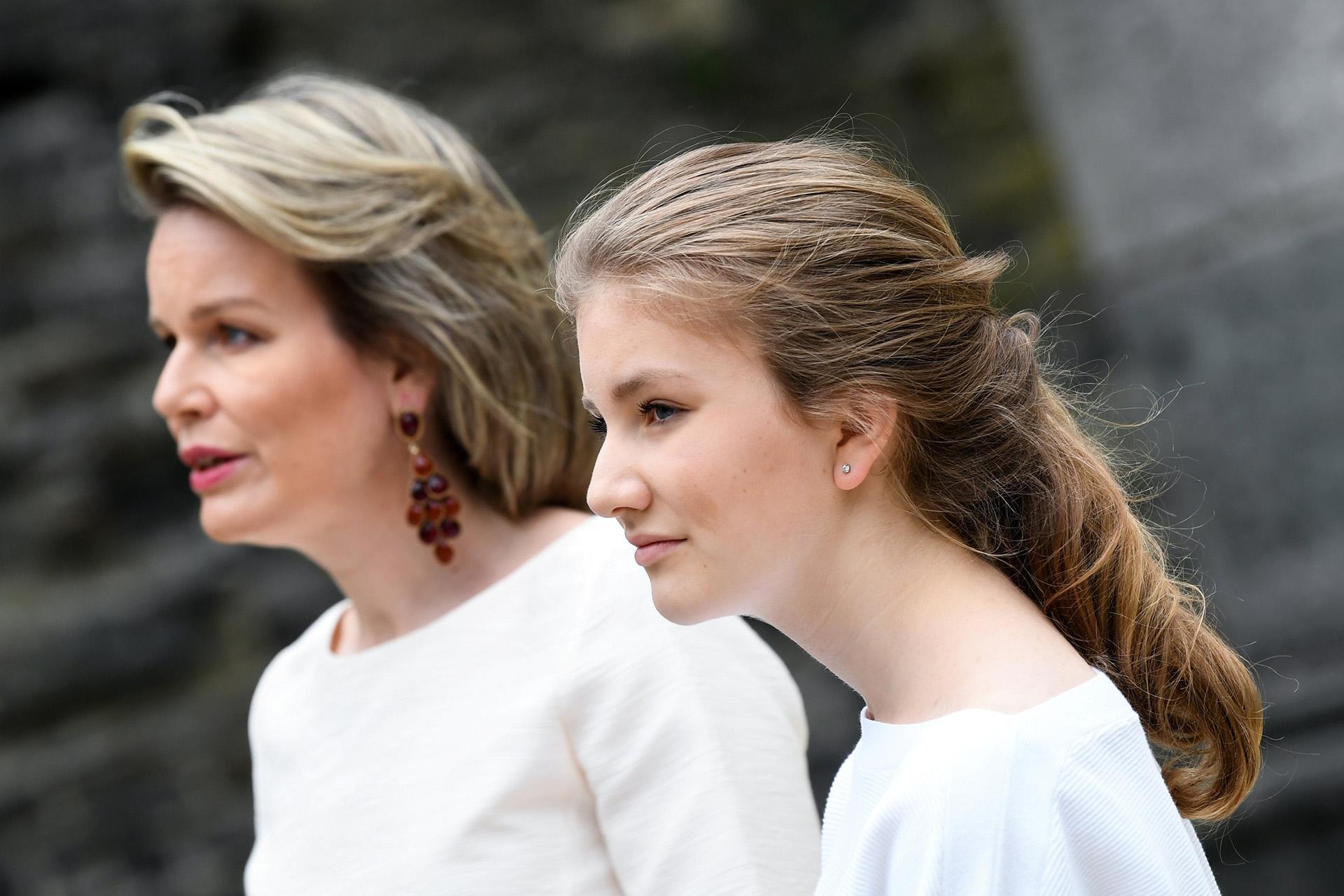 La princesa Elisabeth, de 17 años, es la duquesa de Brabante y es la heredera al trono de Bélgica