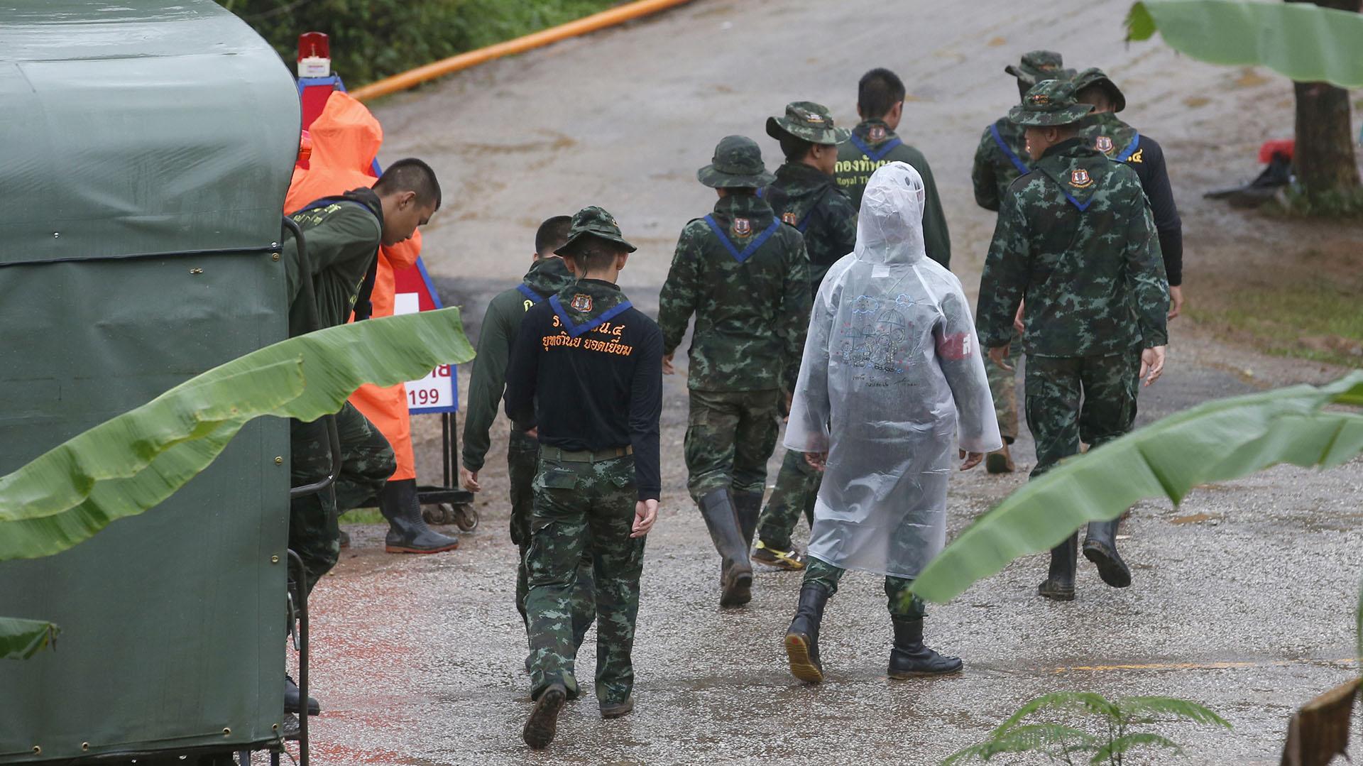 Se reanudó la operación en Tailandia y ya rescataron a 11 niños ...