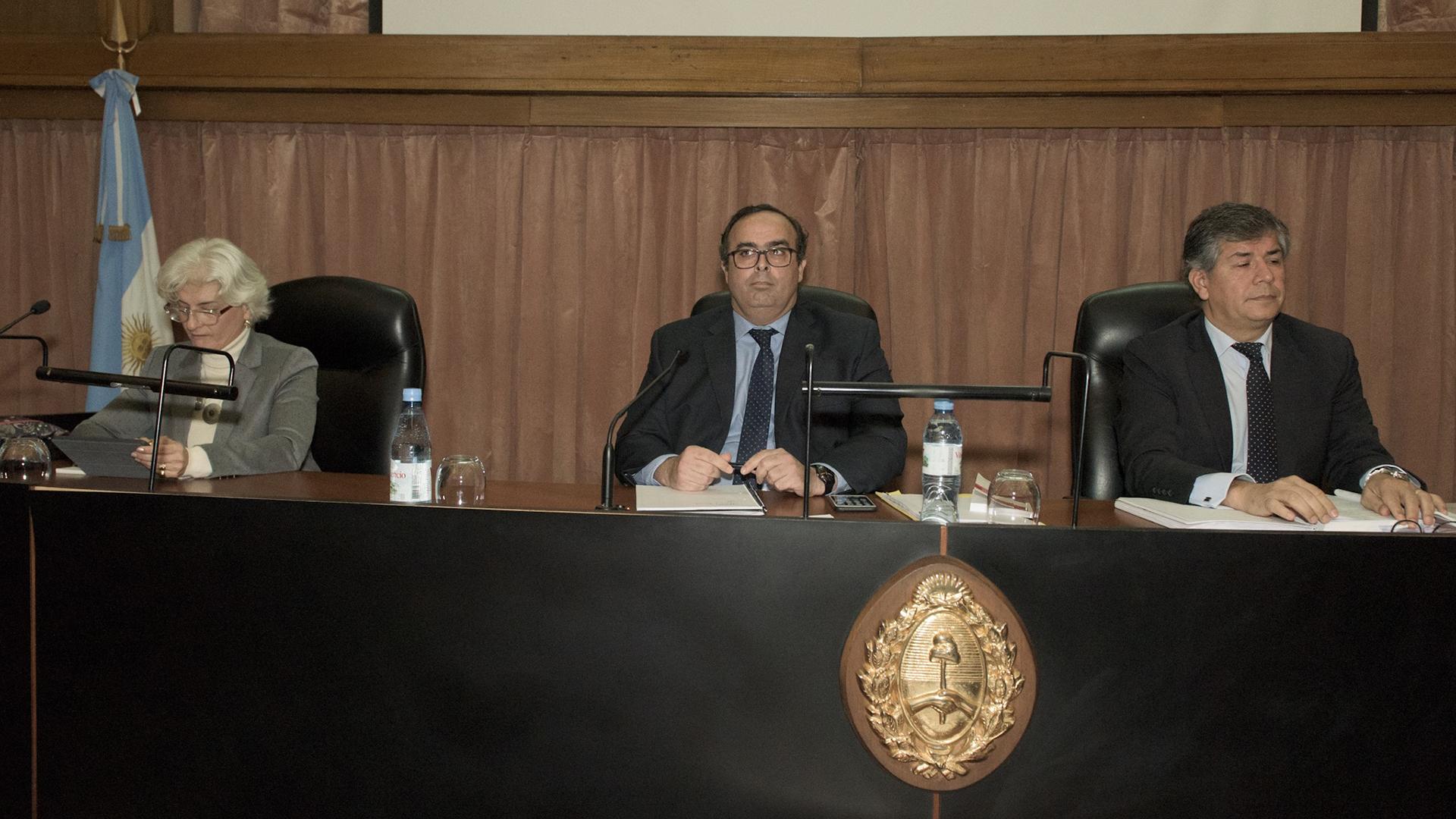 López Iñíguez, Bertuzzi y Costabel, los jueces que condenaron a Boudou (Adrián Escandar)