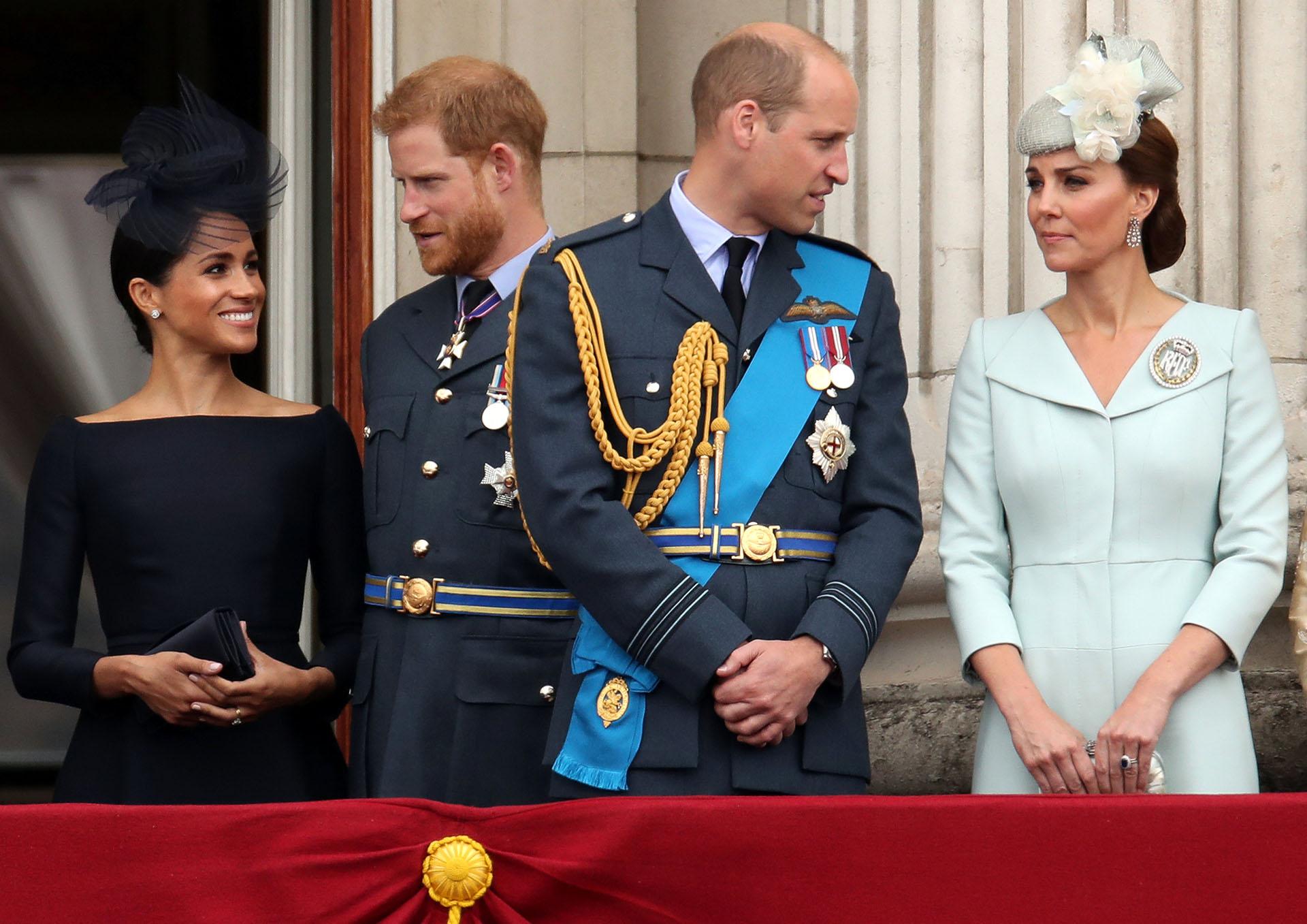 Las duquesas acompañaron a sus maridos y eligieron estilos bien diferentes