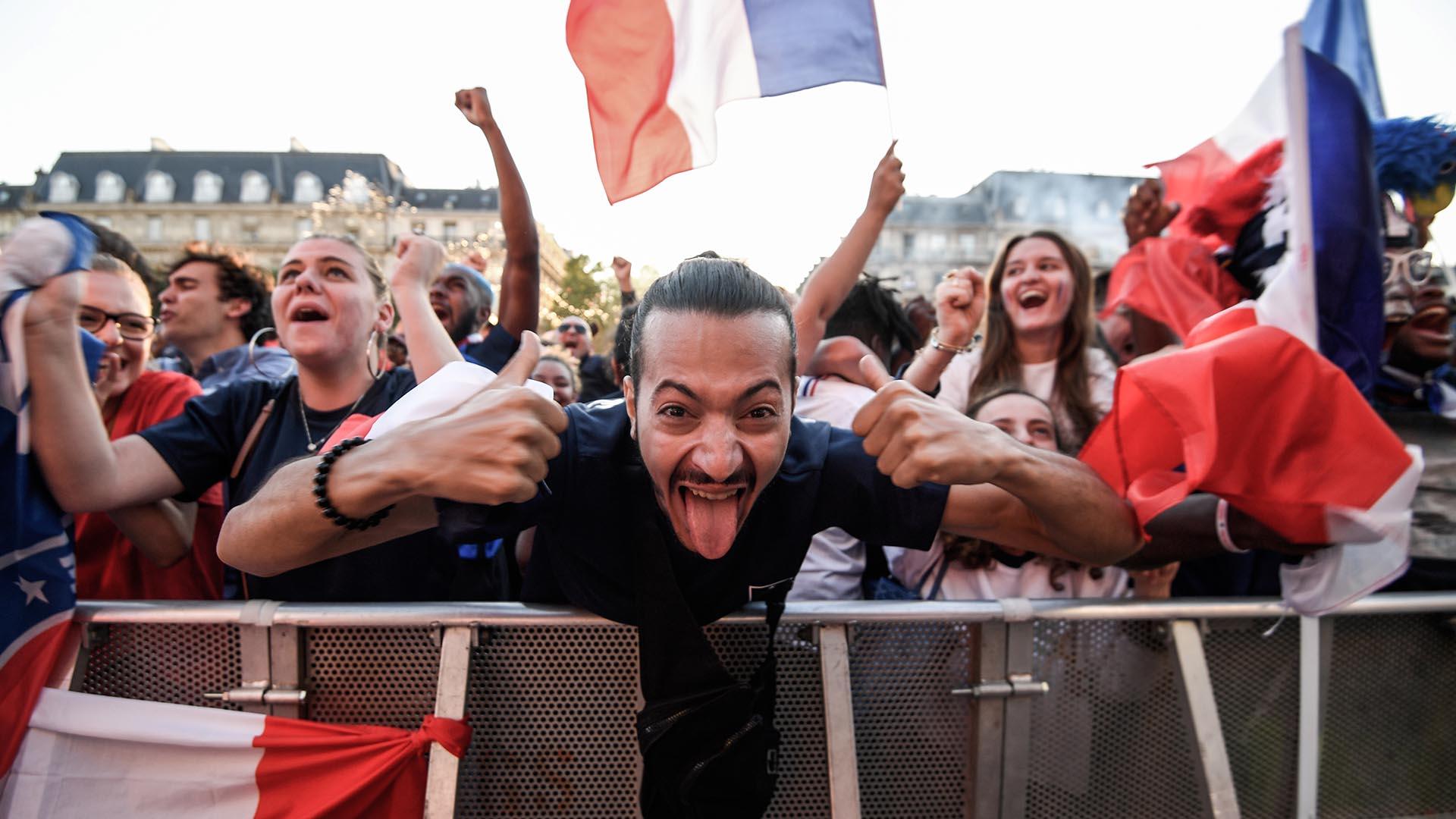 El gol de Umtiti desató la locura de los franceses que ahora irán en la búsqueda de su segundo título mundial