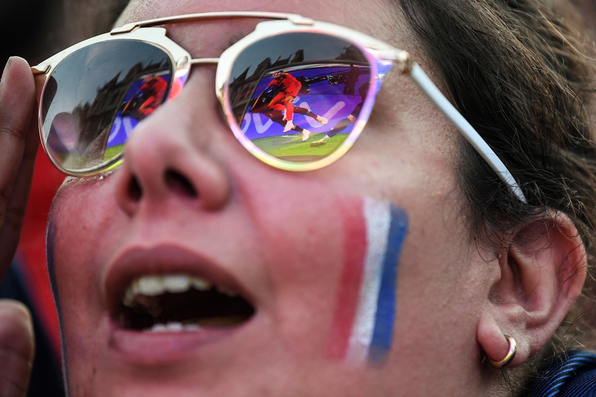 Con un gol de Umtiti, el equipo de Deschamps se impuso por la mínima diferencia