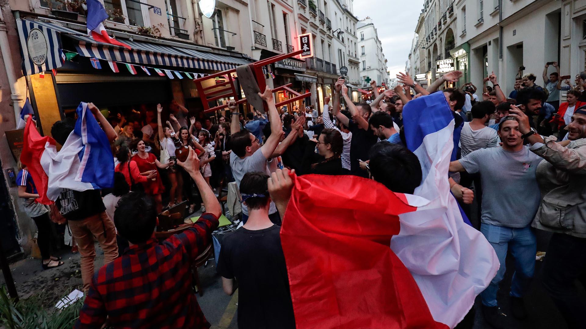 Los galos jugarán la final de la Copa del Mundo ante Inglaterra o Croacia