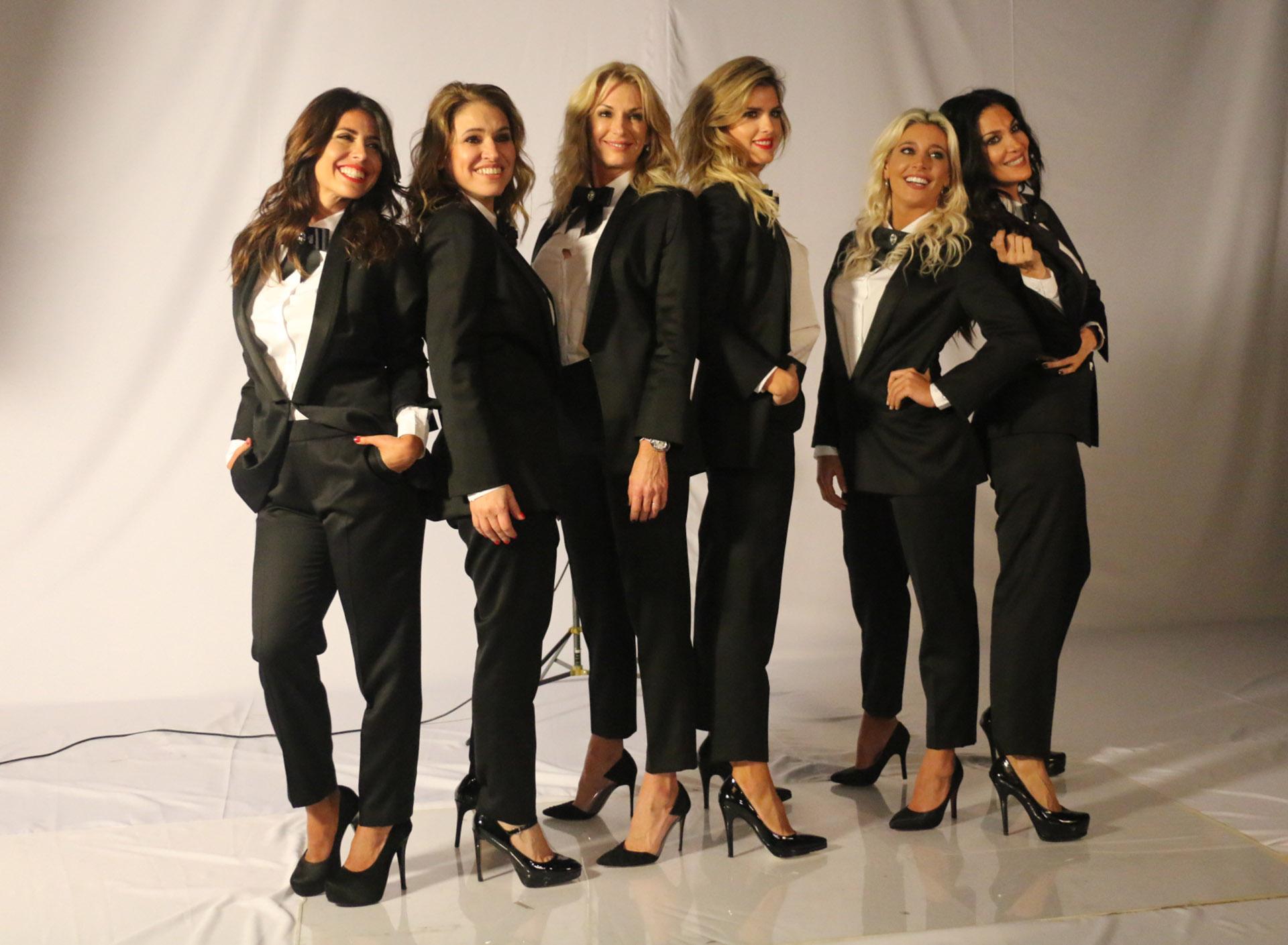 Majo Martínez, Fernanda Iglesias, Yanina Latorre, Mery del Cerro, Sol Pérez y Silvina Escudero