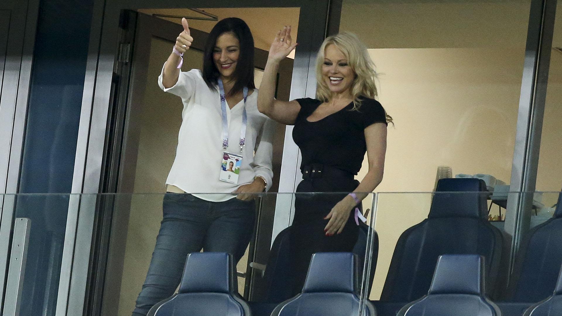 Pamela Andersonen la Copa del Mundo
