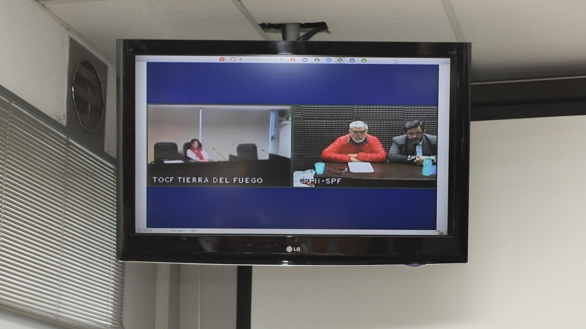 De Vido por videconferencia desde la cárcel de Marcos Paz (Adrián Escandar)
