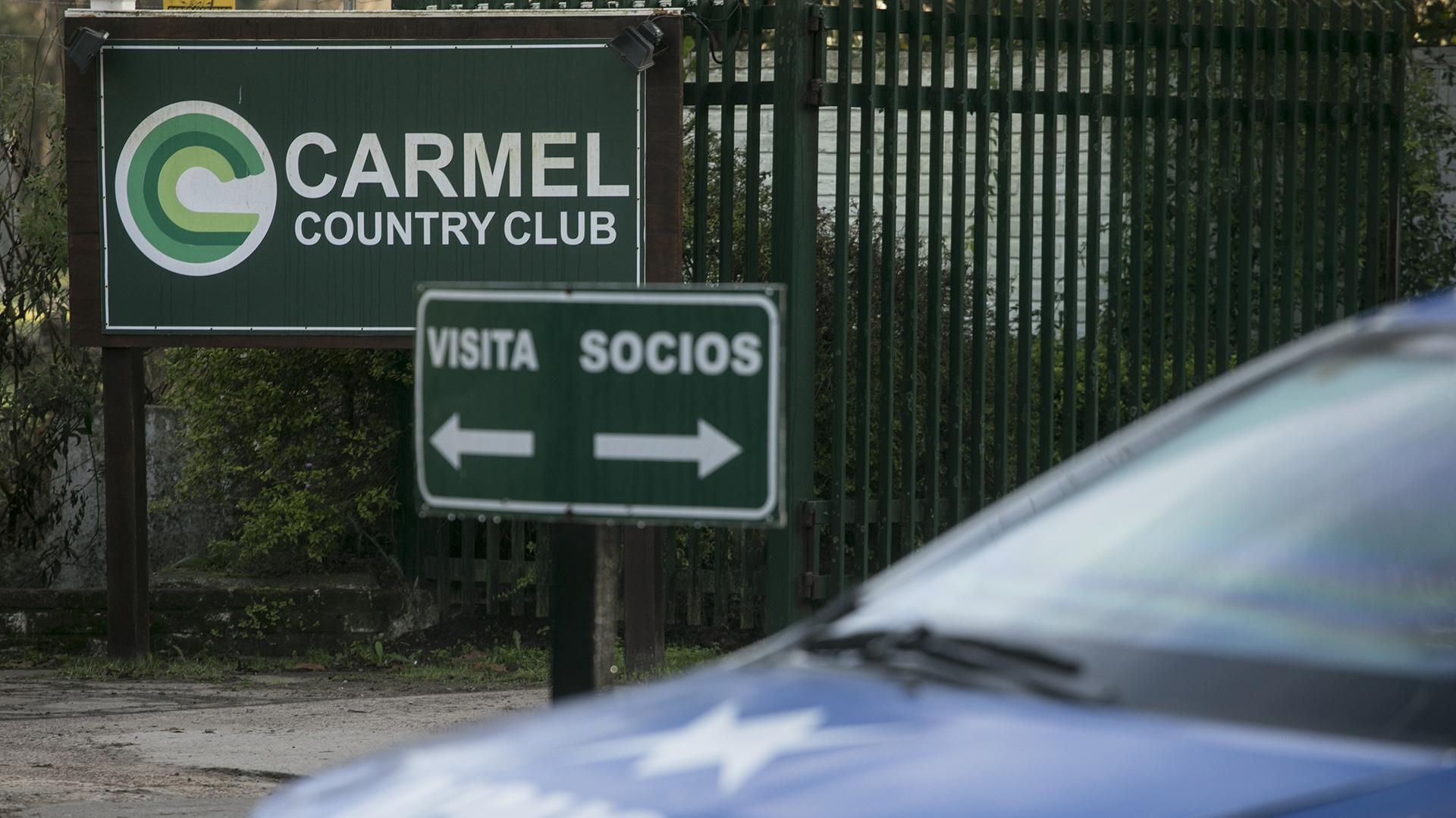 La reconstrucción se lleva a cabo en El Carmel Country Club (Alberto Raggio)