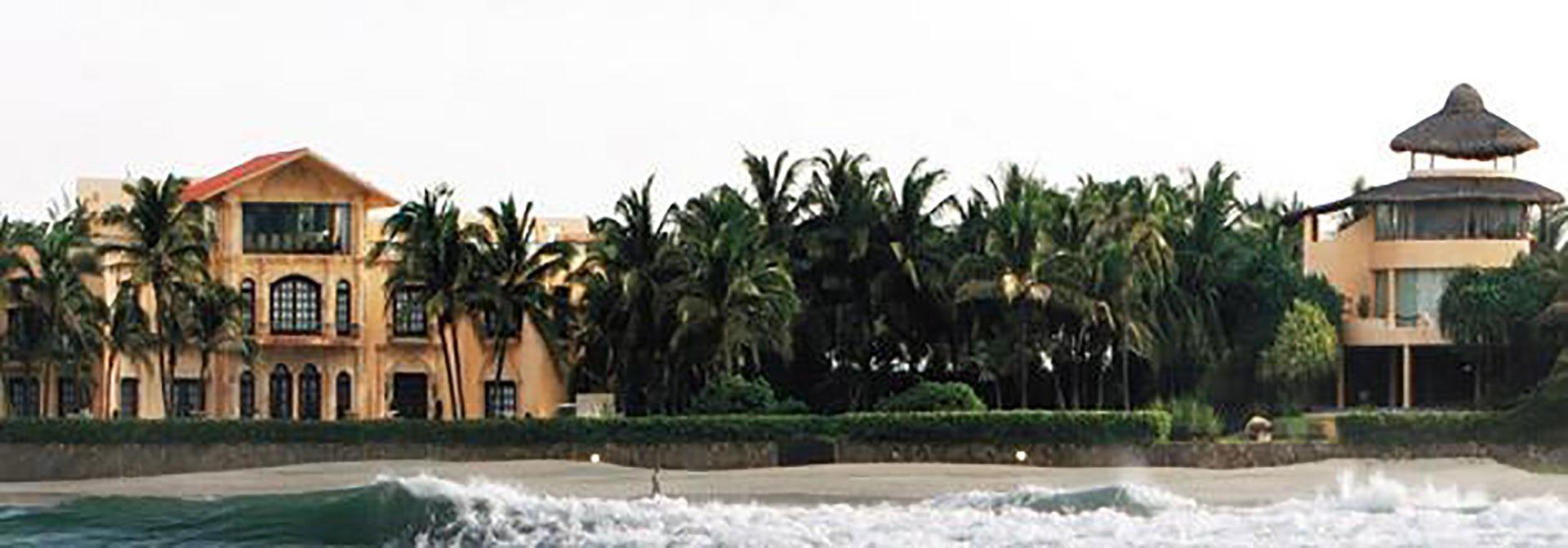 La propiedad estaba ubicada en la zona conocida entonces como Playa Bonfil