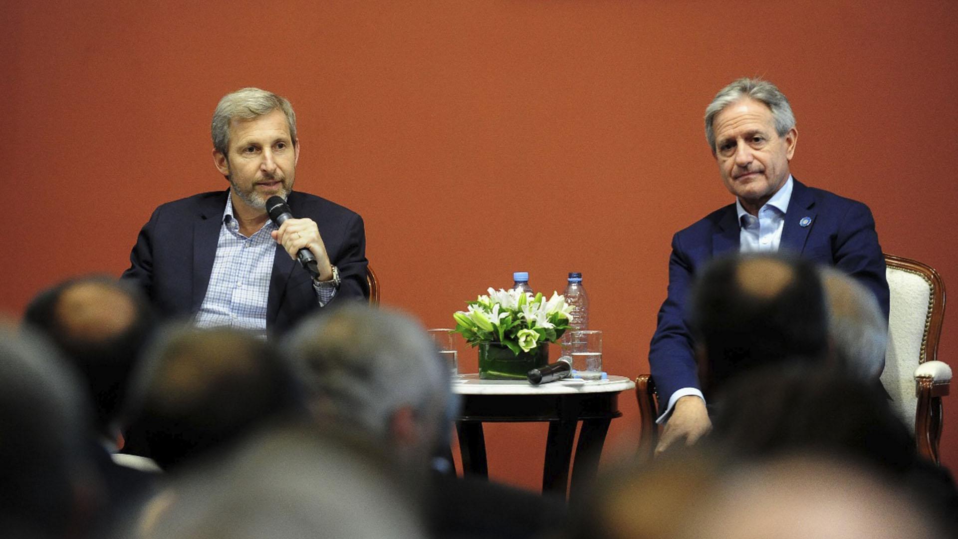 Rogelio Frigerio y Andrés Ibarra presentaron el nuevo sistema de identidad digital
