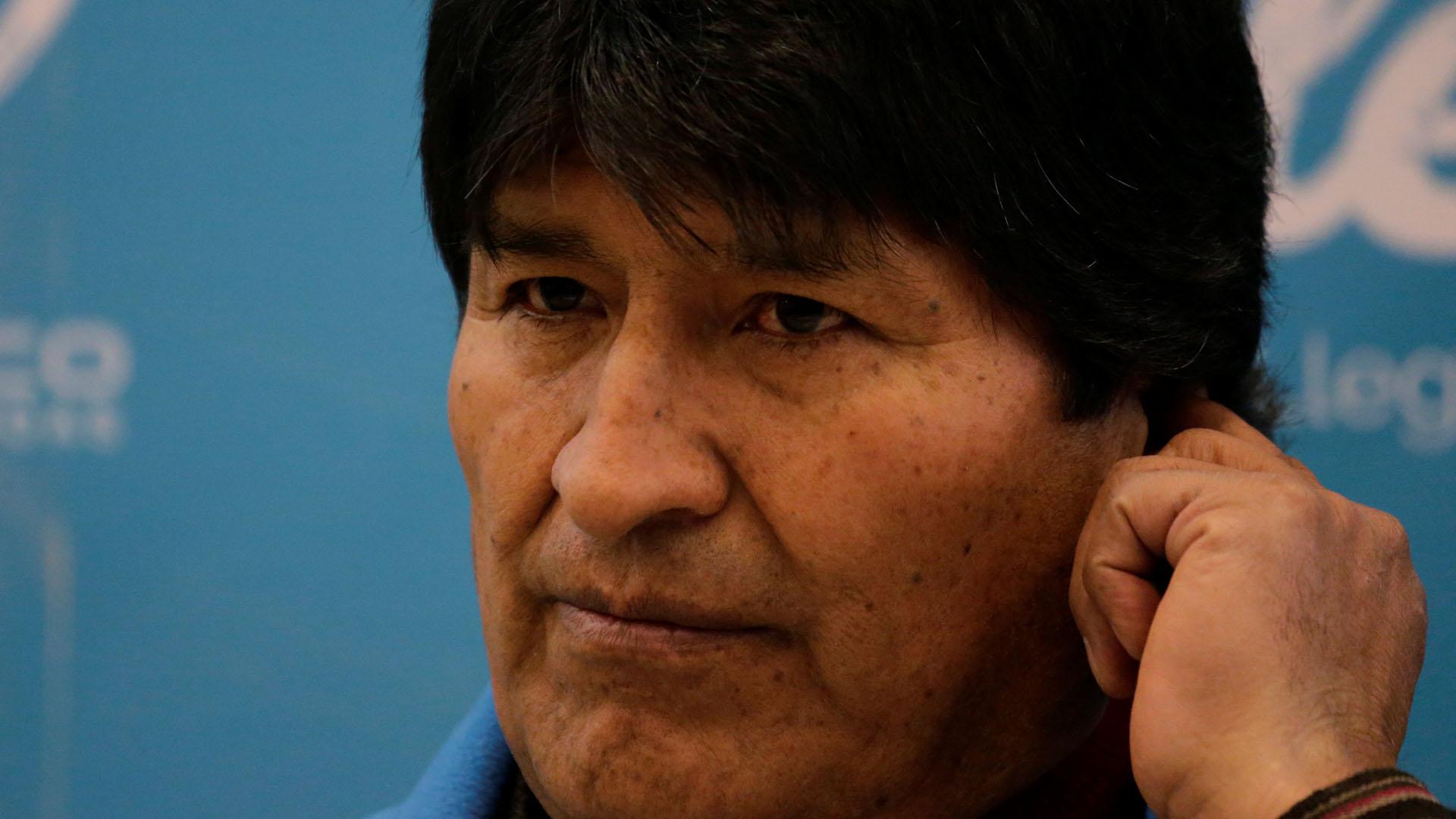 Evo Morales habló de las dificultades de la Unasur (Reuters)