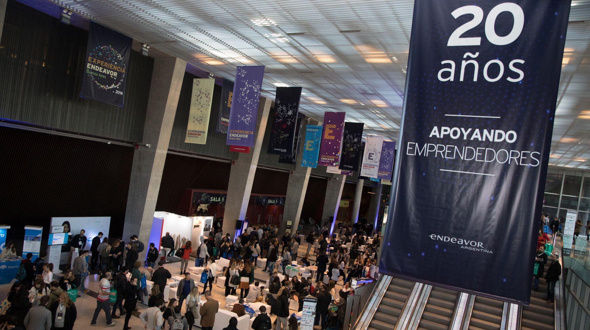 """""""Experiencia Endeavor 2018"""" reunió a más de 3000 personas con ganas de iniciar sus proyectos, inversores, mentores y a los actores más importantes del ecosistema emprendedor"""