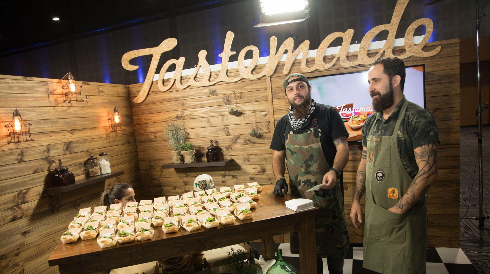 TasteMade hizo una demostración en vivo en el VIP de Experiencia Endeavor 2108, en el Centro de Exposiciones de la Ciudad de Buenos Aires