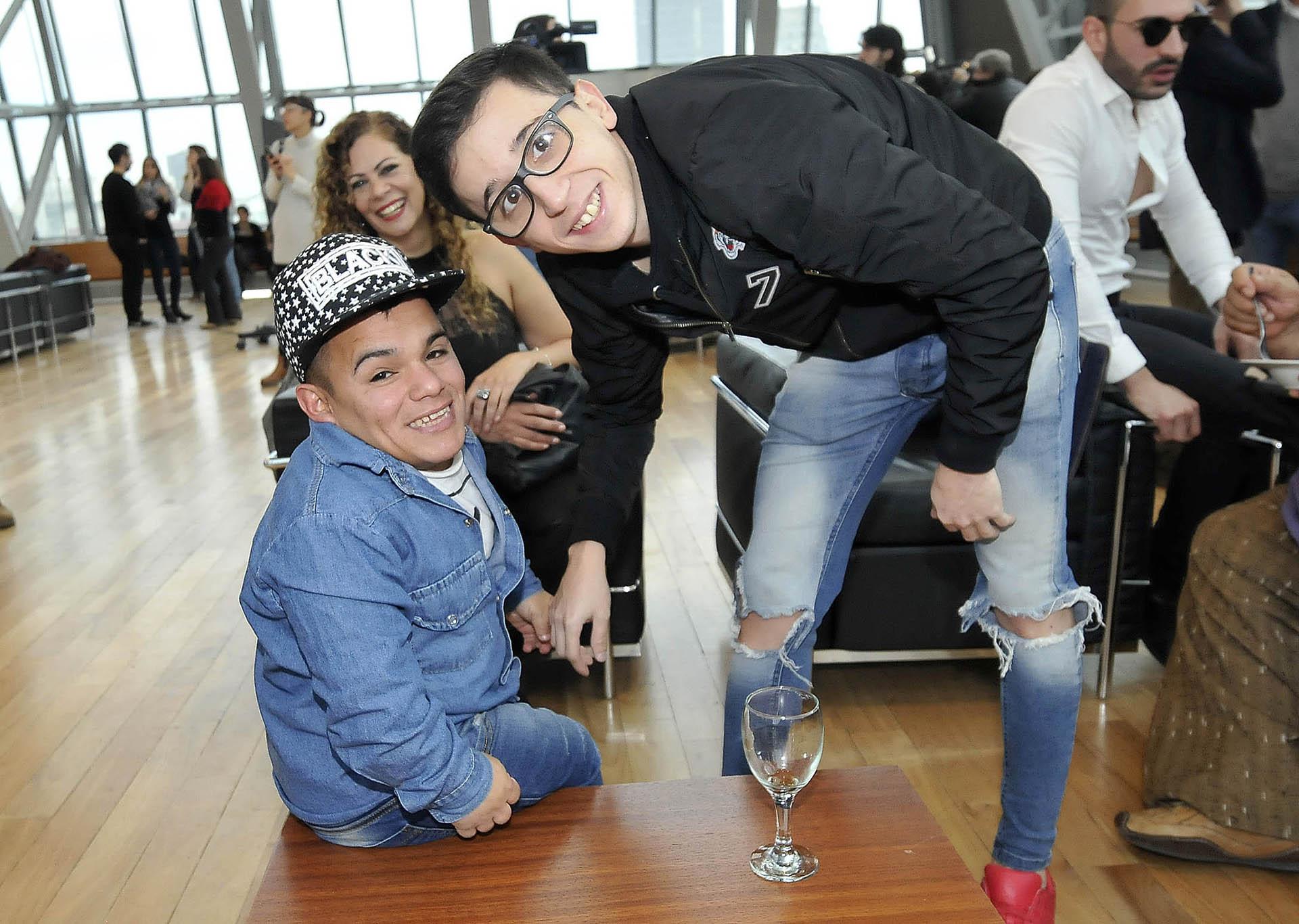 Brian Buley y Rodrigo Noya