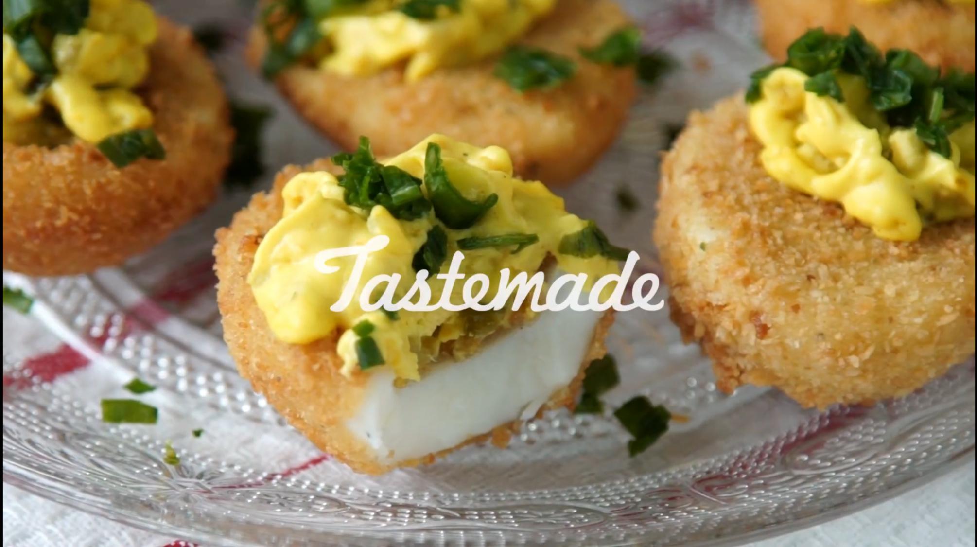 Croquetas estilo Tastemade. Todas las comidas son simples y, generalmente, ideales para picadas o reuniones con amigos