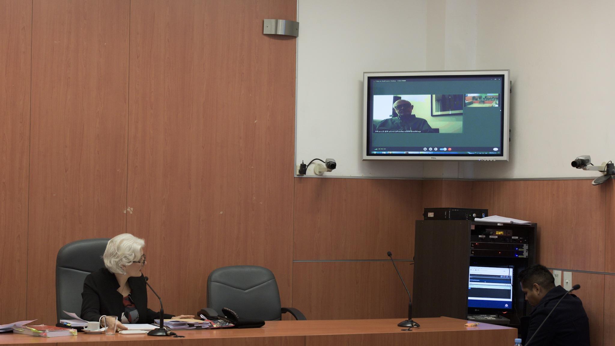Timerman al declarar por videoconferencia en la causadel Memorándum de entendimiento con Irán