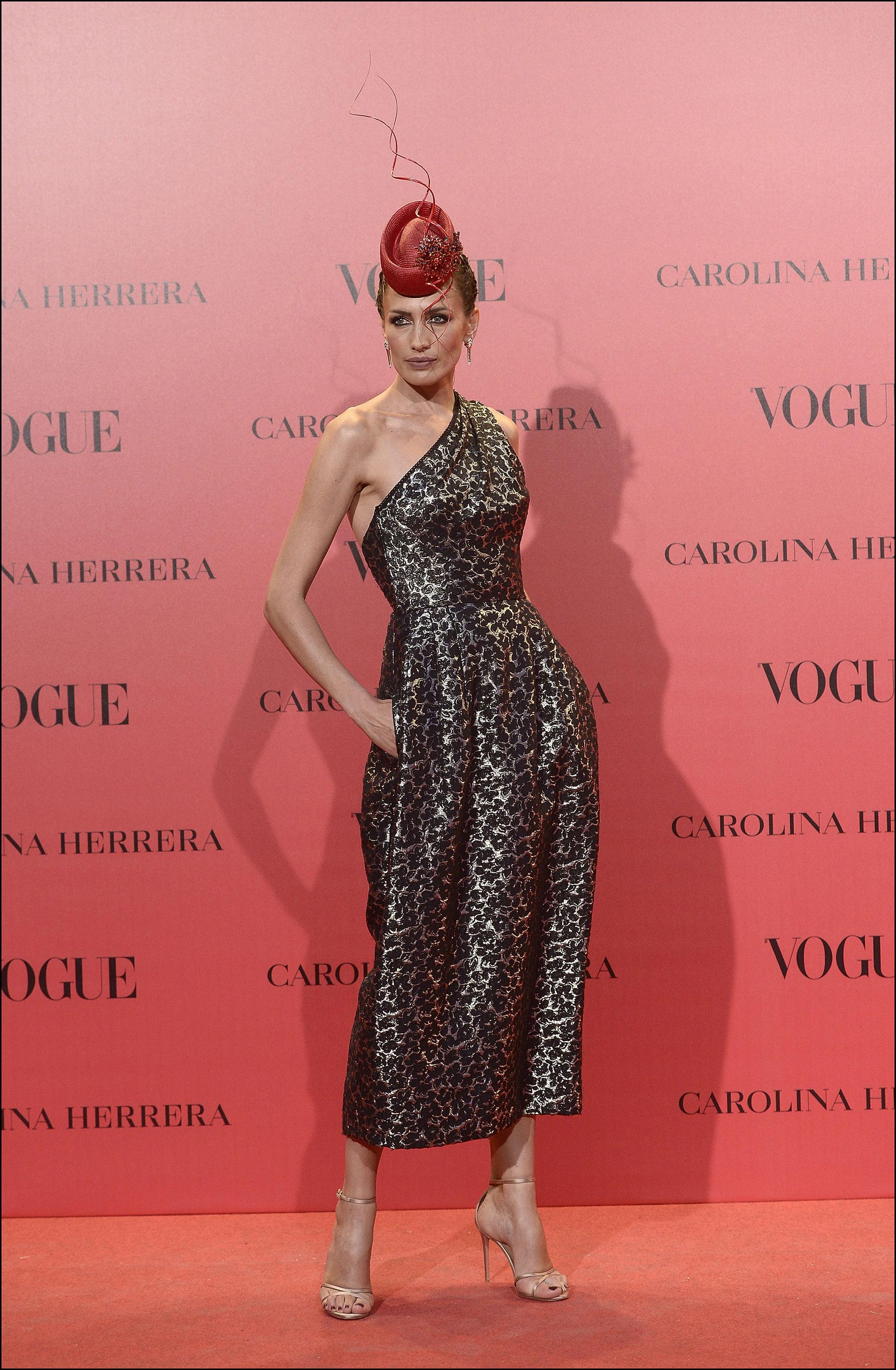 Los looks de la fiesta de Vogue España: la China Suárez y Benjamín ...