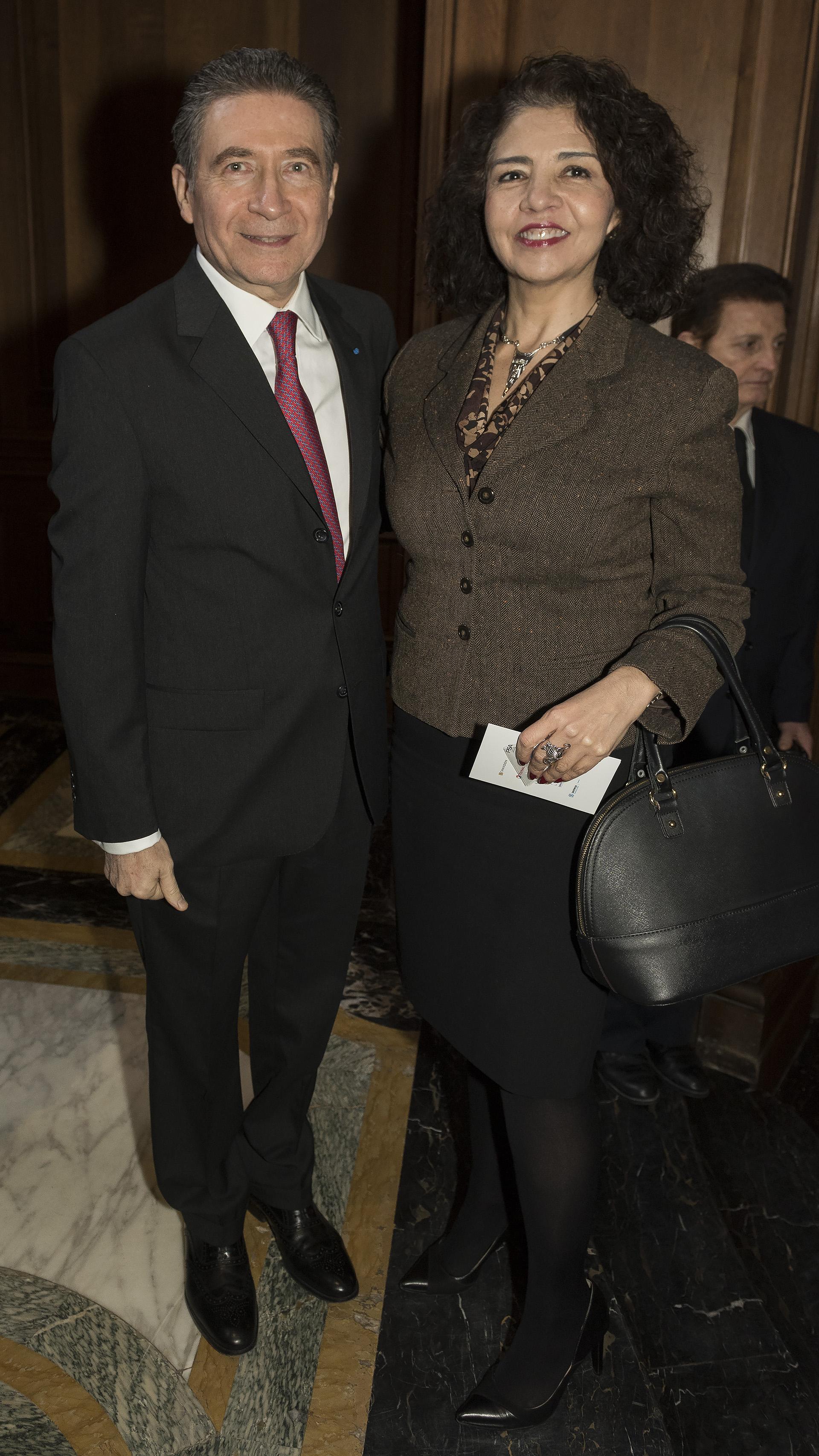 La embajadora de México en la Argentina, Mabel Gómez Oliver