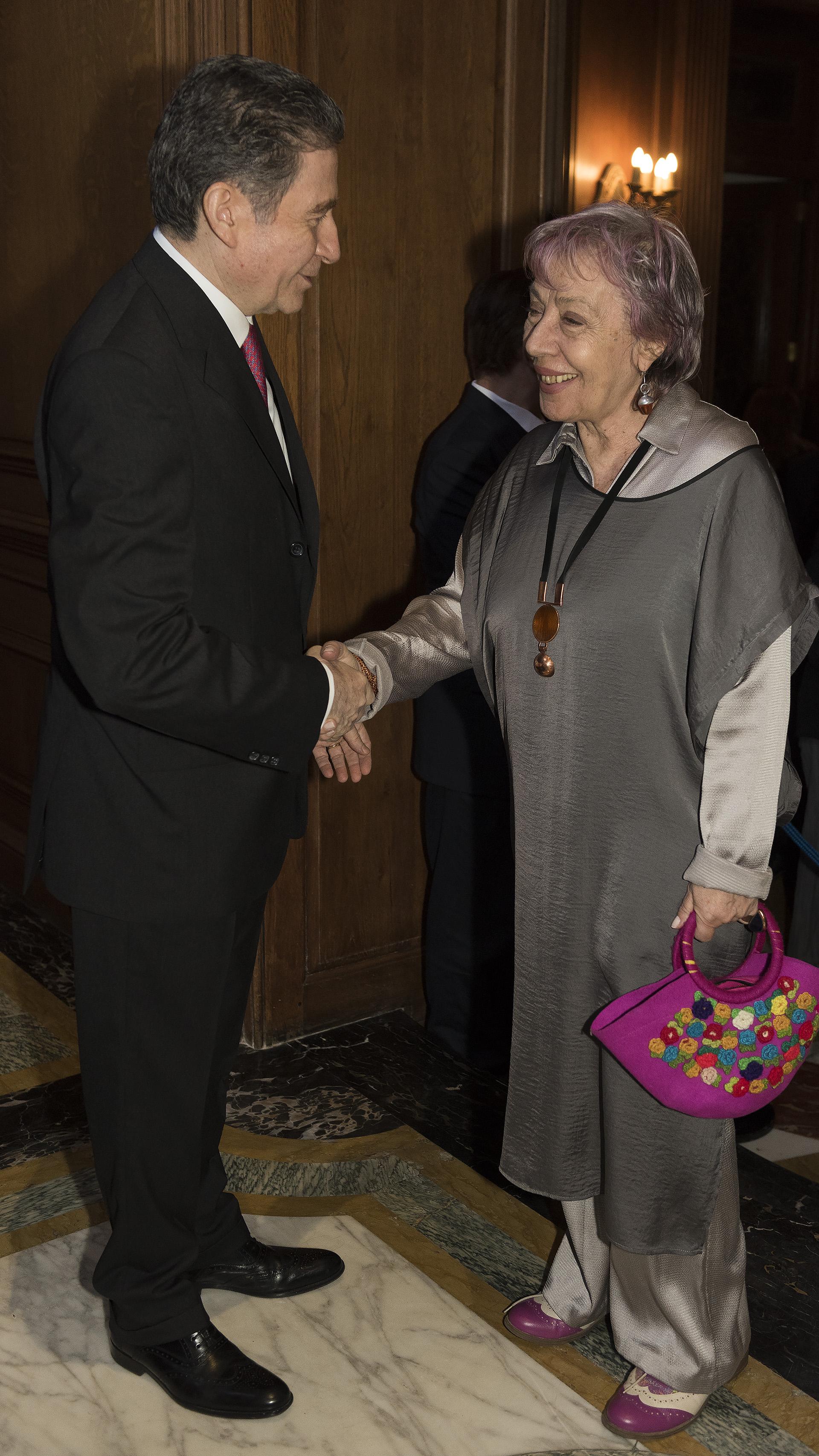 Norma Morandini, directora del Observatorio de Derechos Humanos del Senado