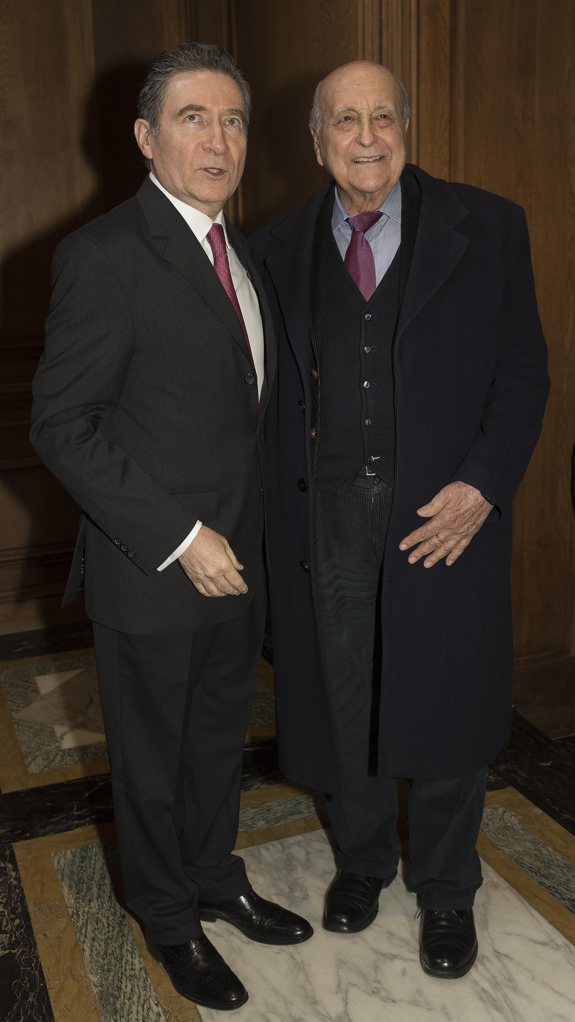 El embajador francés y Antonio Estrany Gendre